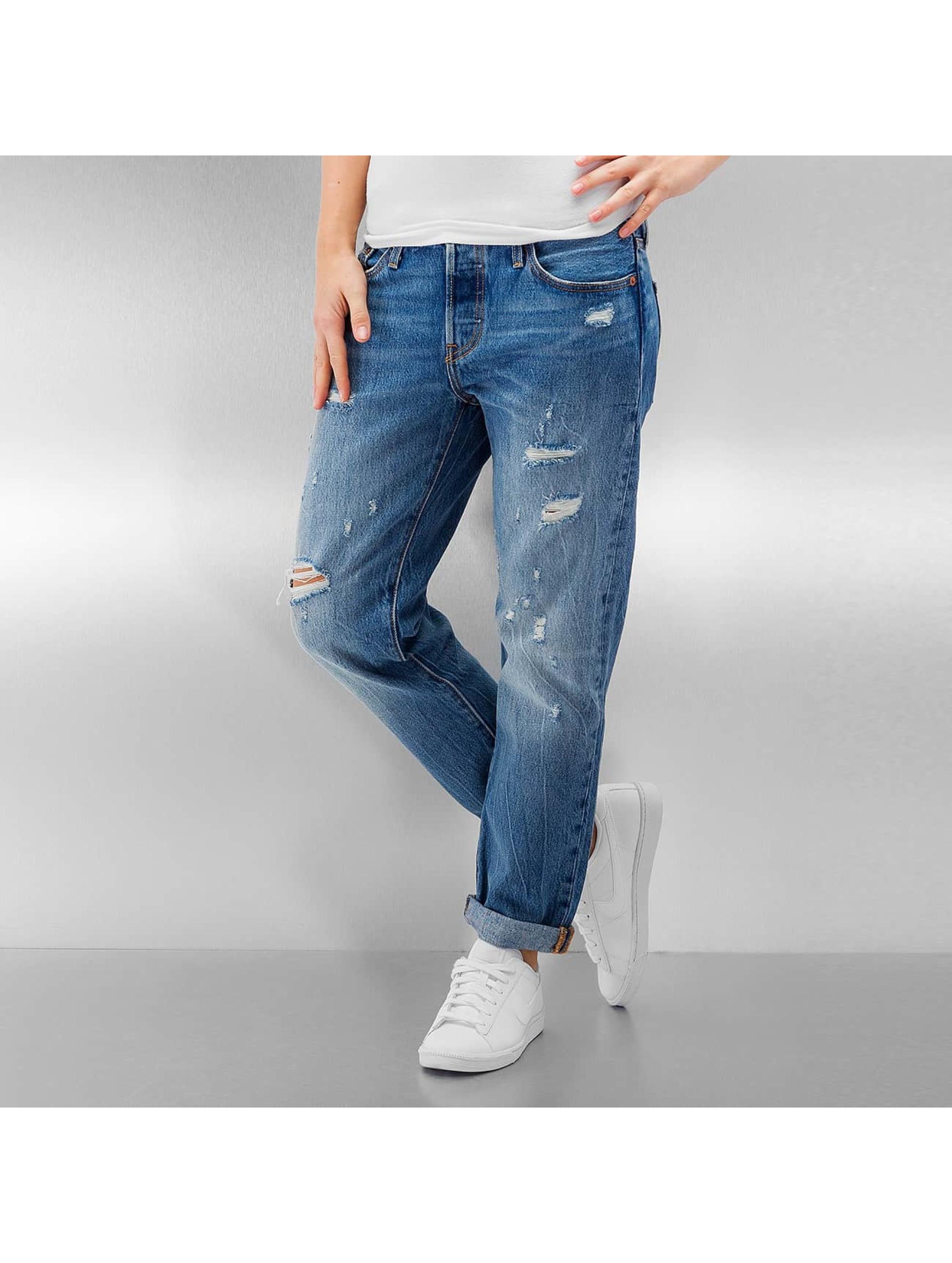 Levi´s® Frauen Loose Fit Jeans 501 in blau