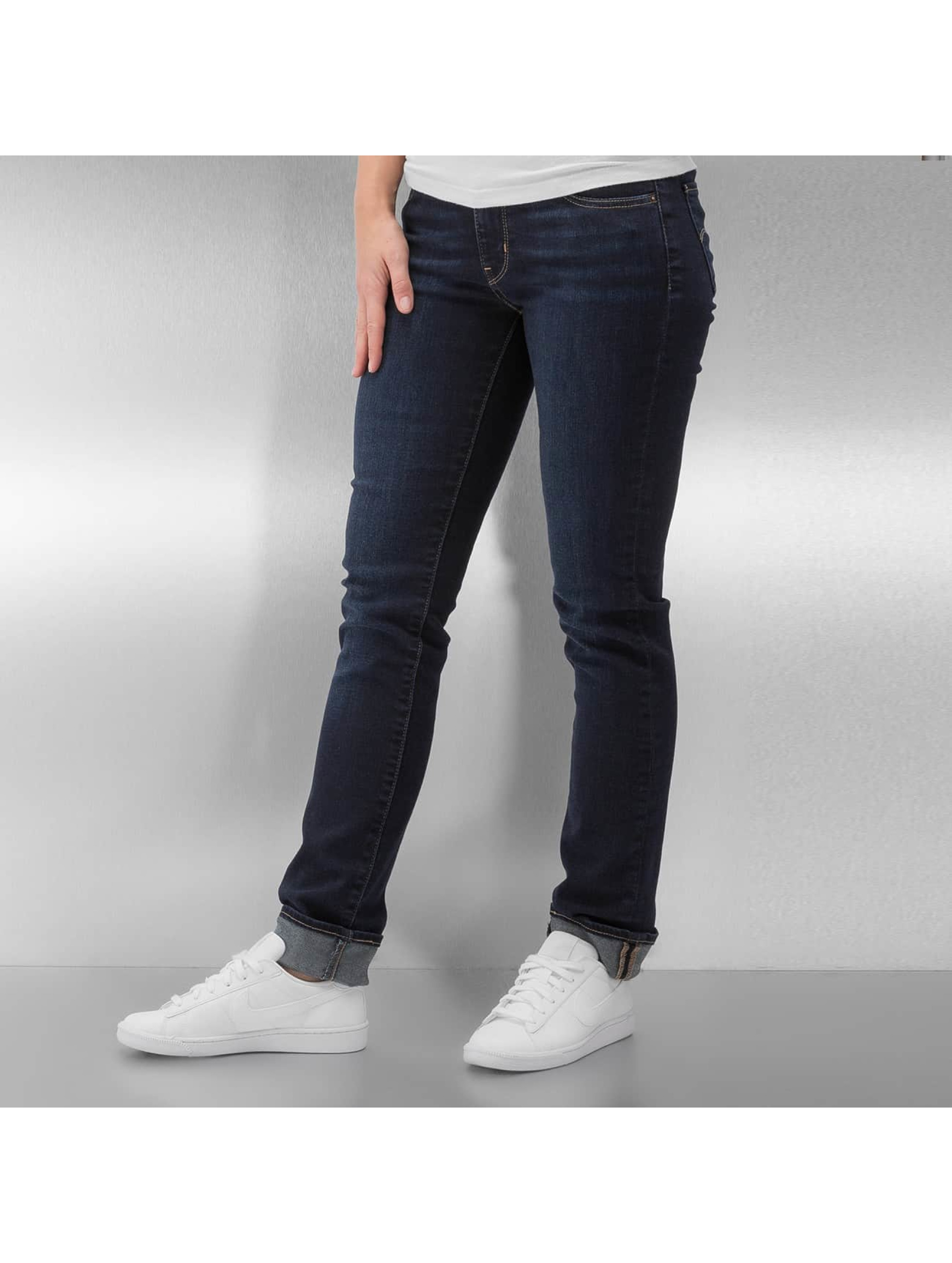 Levi´s® Frauen Slim Fit Jeans 712 in blau