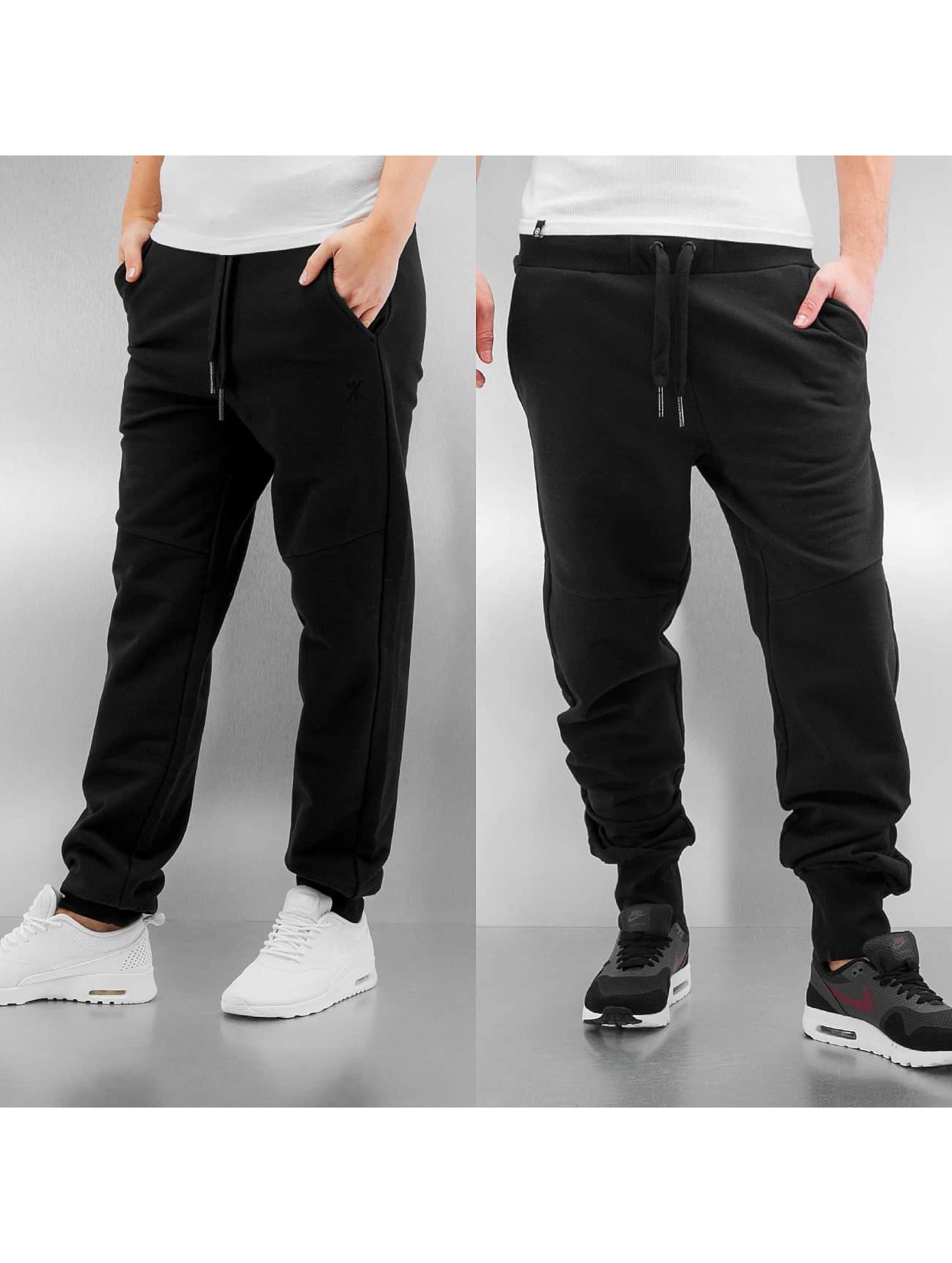 OnePiece Männer,Frauen Jogginghose Out Basic in schwarz