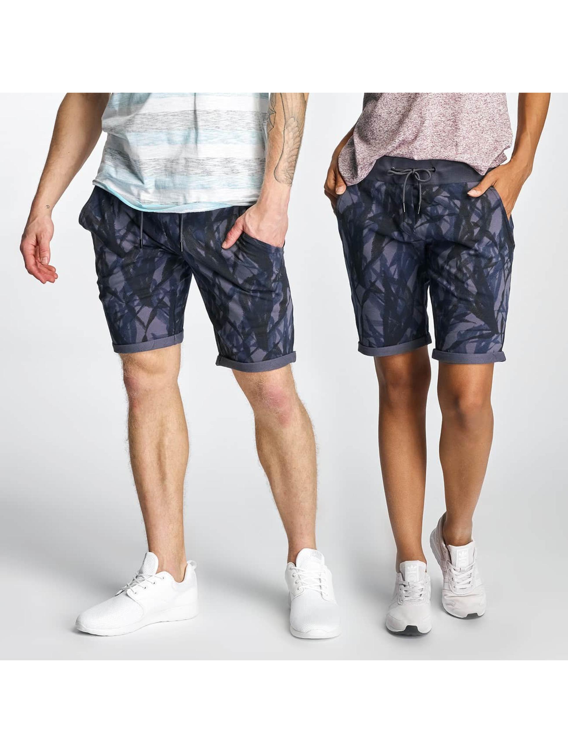 OnePiece Männer,Frauen Shorts Abyss in blau