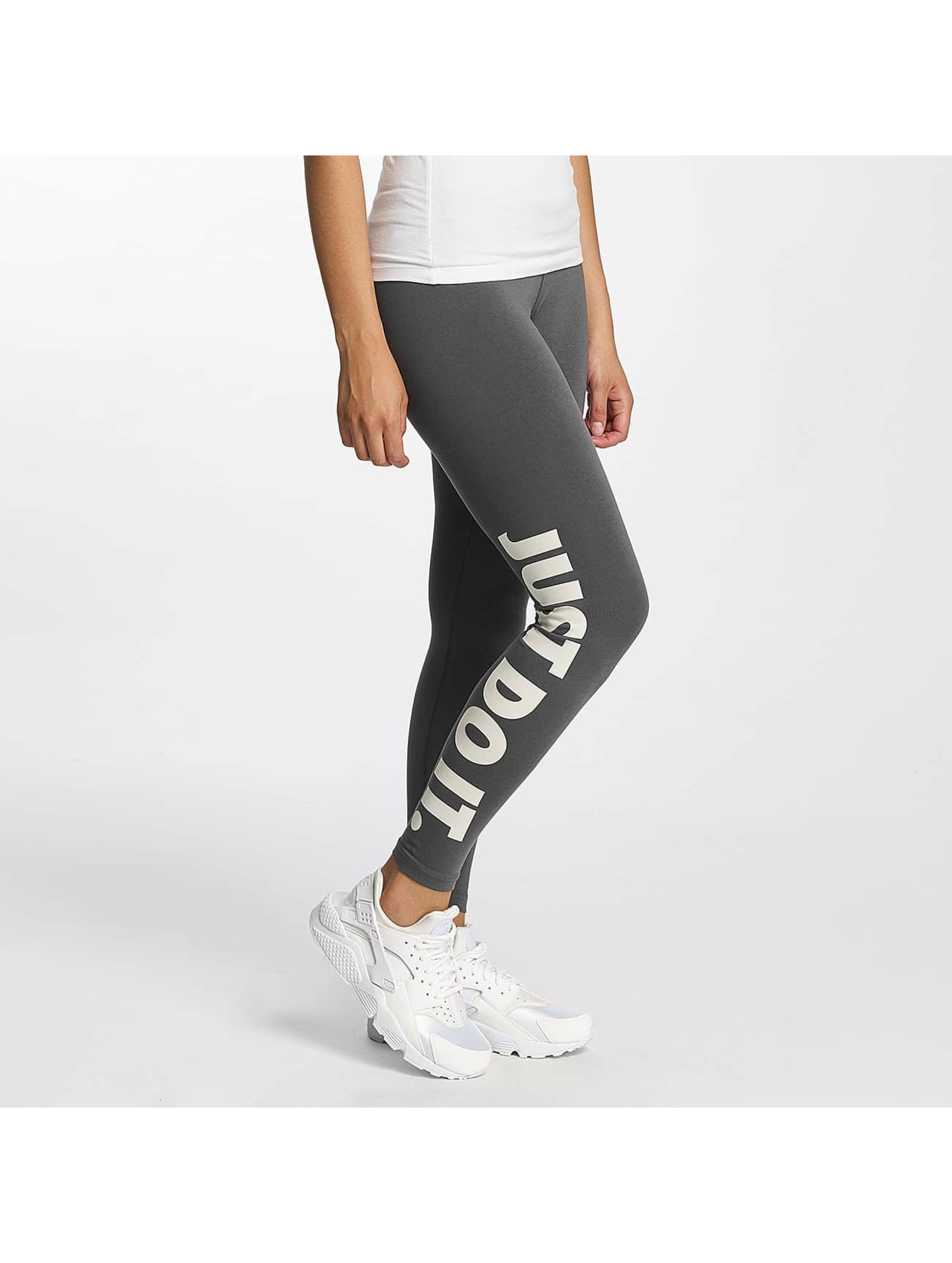 Nike Frauen Legging Leg-A-See Just Do It in grau