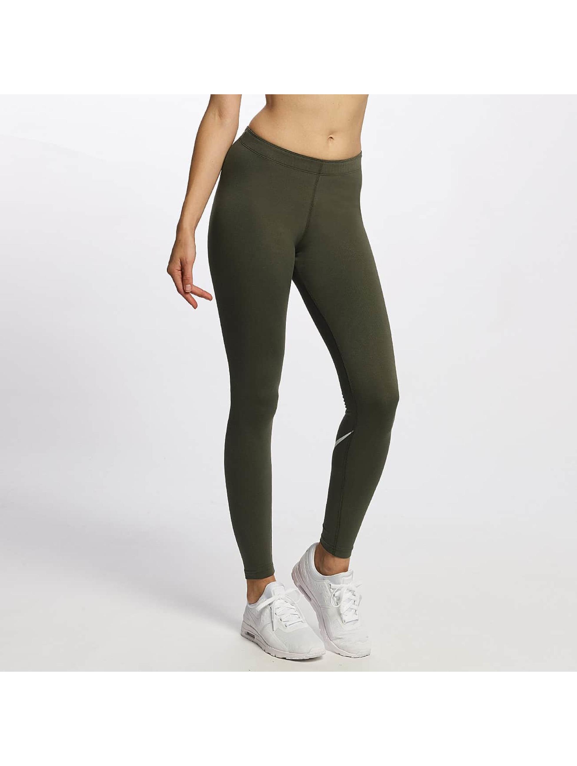 Nike Frauen Legging Leg-A-See Logo in khaki