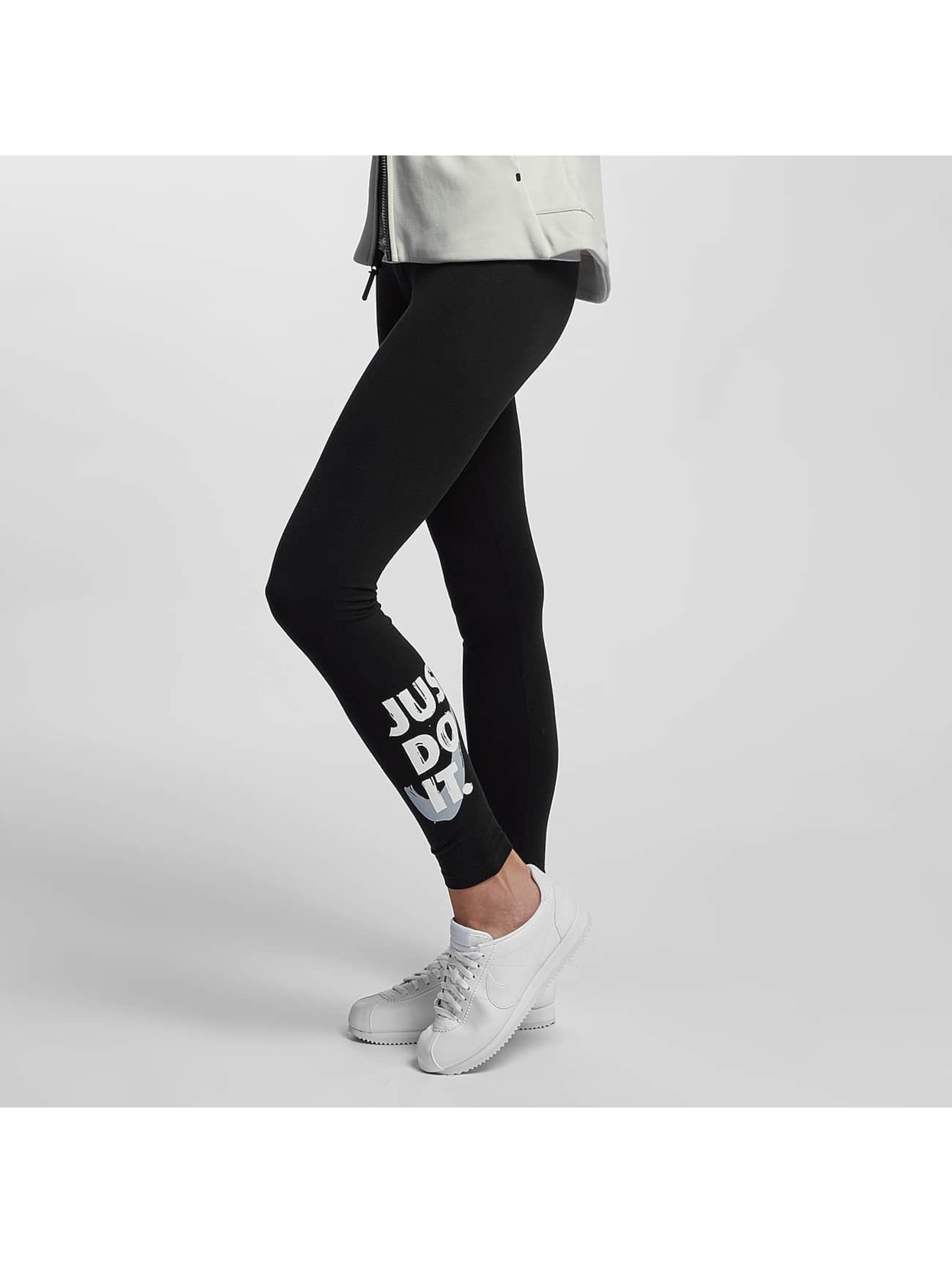 Nike Frauen Legging Club JDI in schwarz