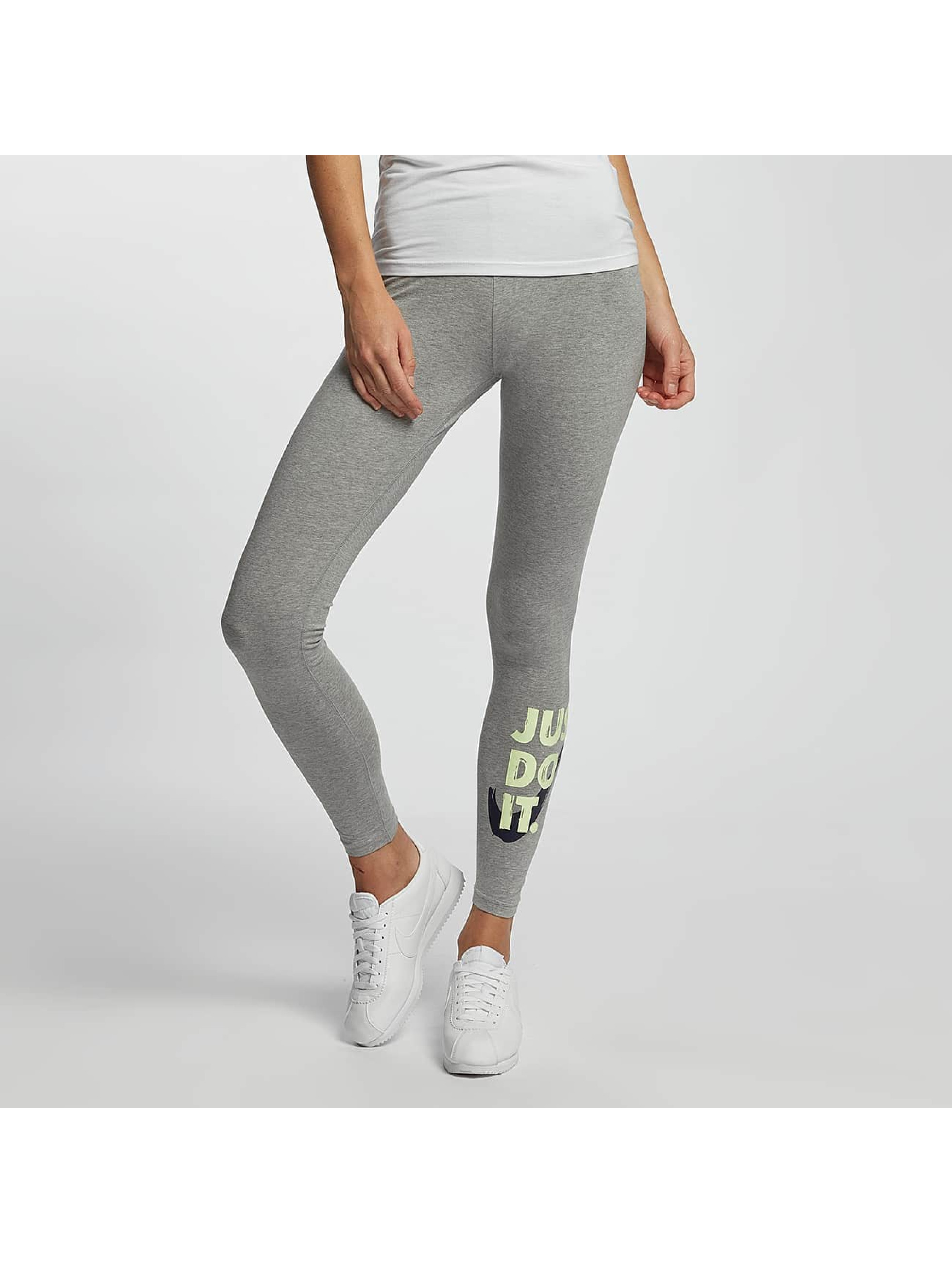 Nike Frauen Legging Club JDI in grau