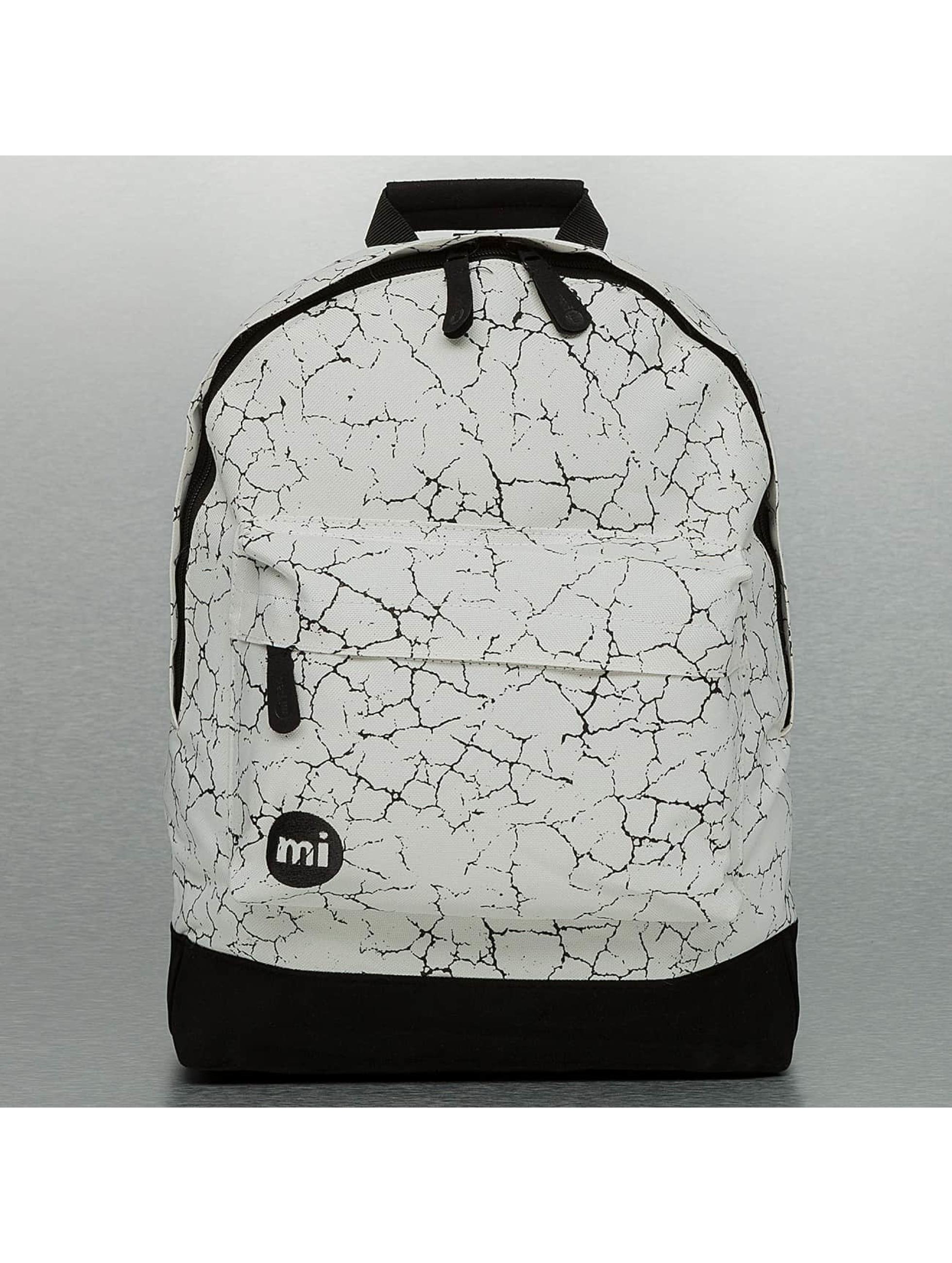 Mi-Pac Männer,Frauen Rucksack Cracked in weiß