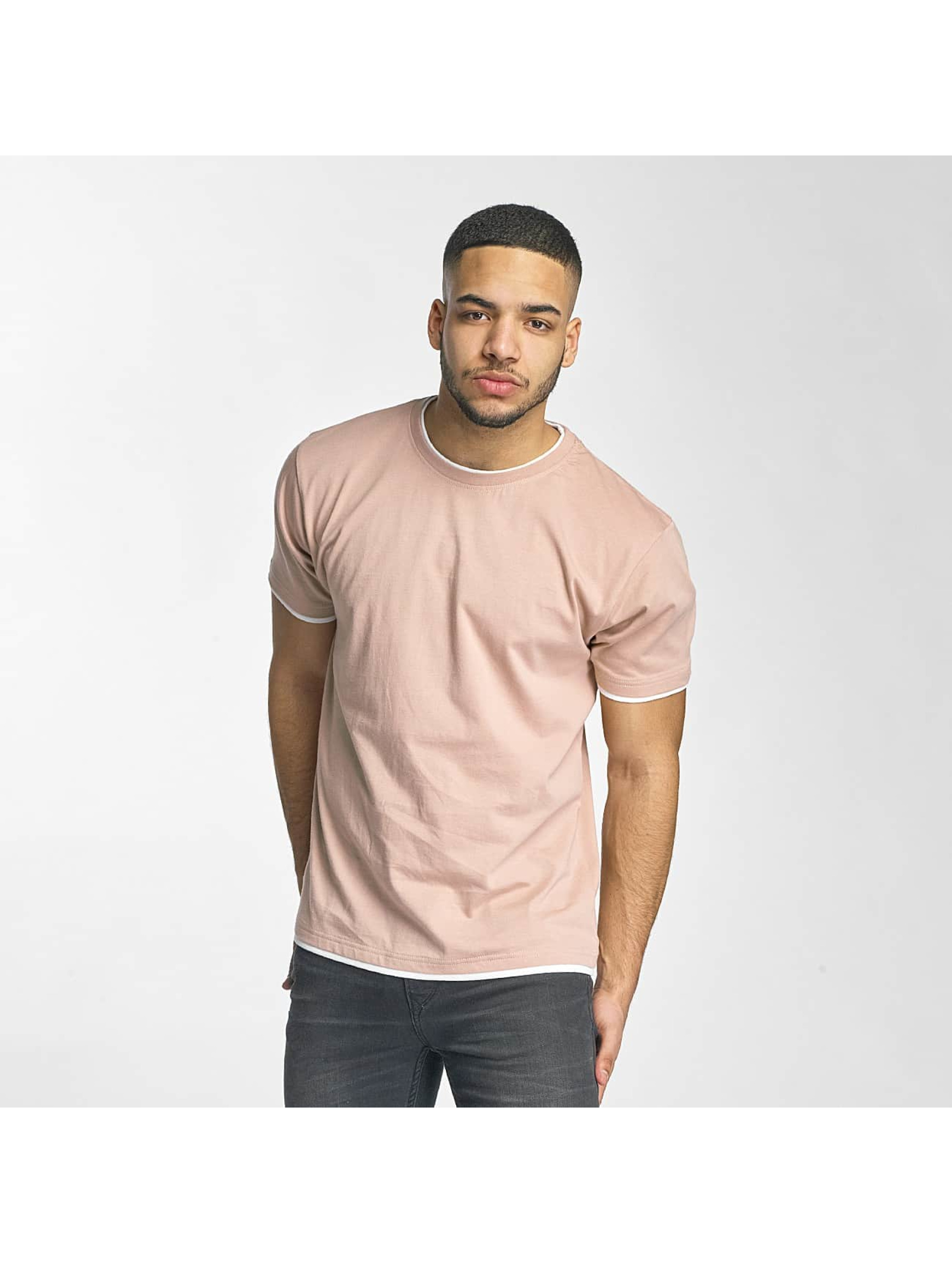 DEF Männer T-Shirt Basic in rosa