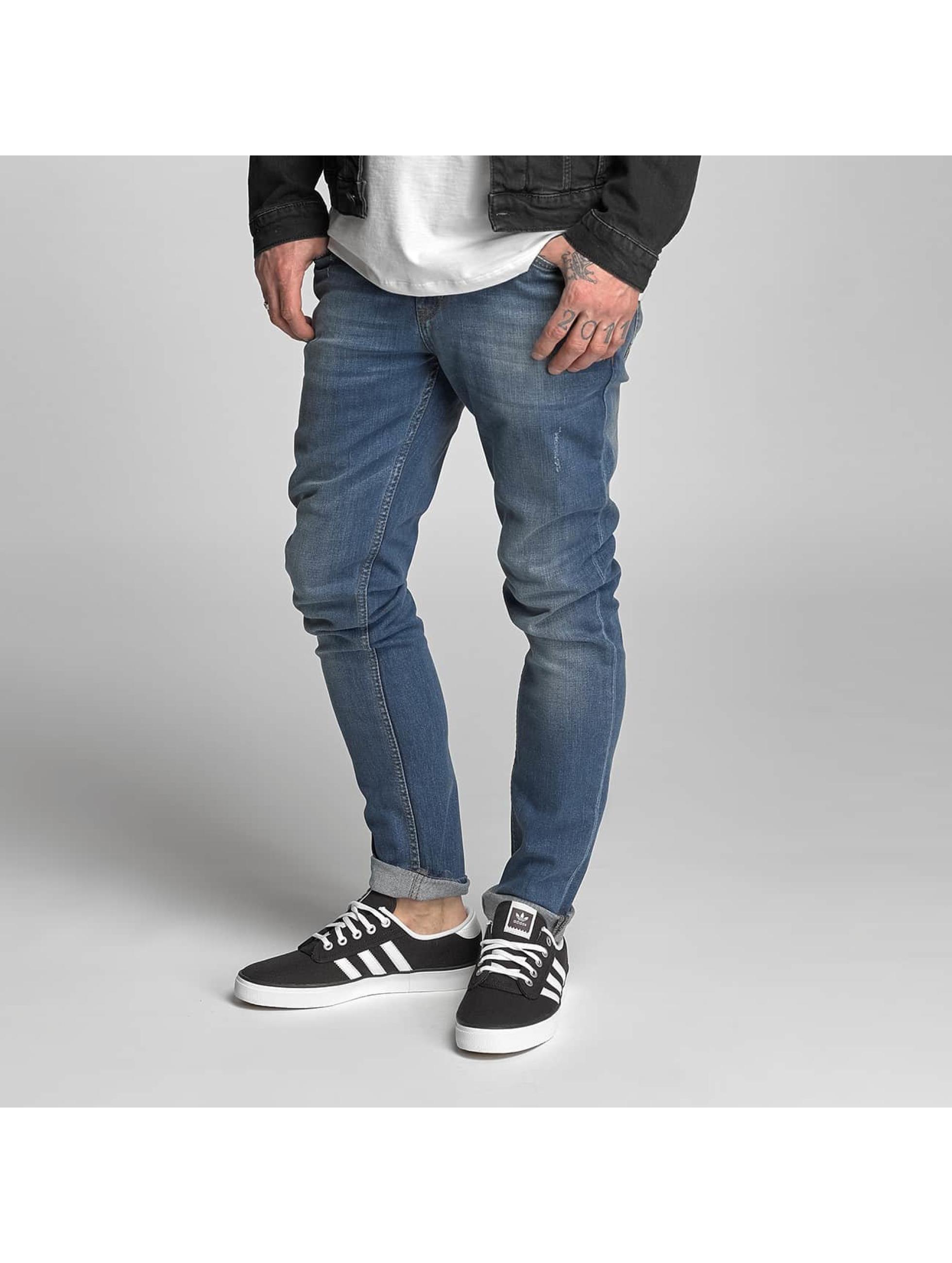 DEF Männer Slim Fit Jeans Roy in blau