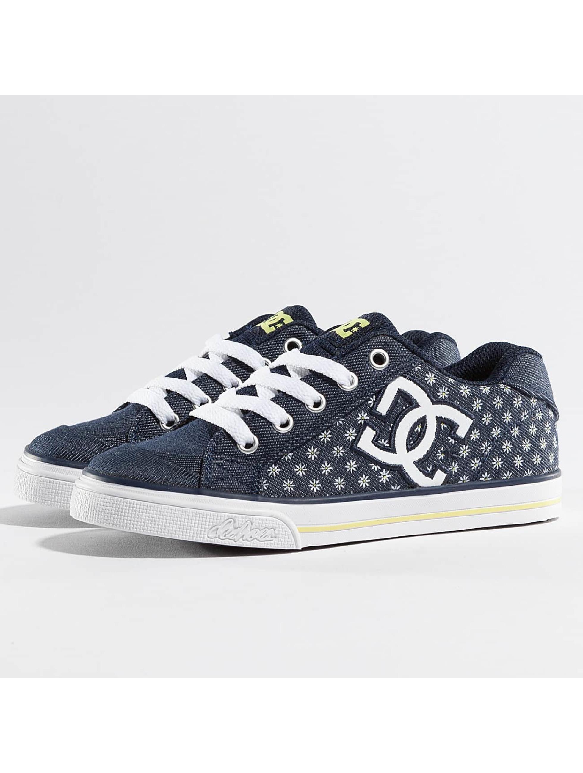 DC Kinder Sneaker Chelsea TX SP in blau