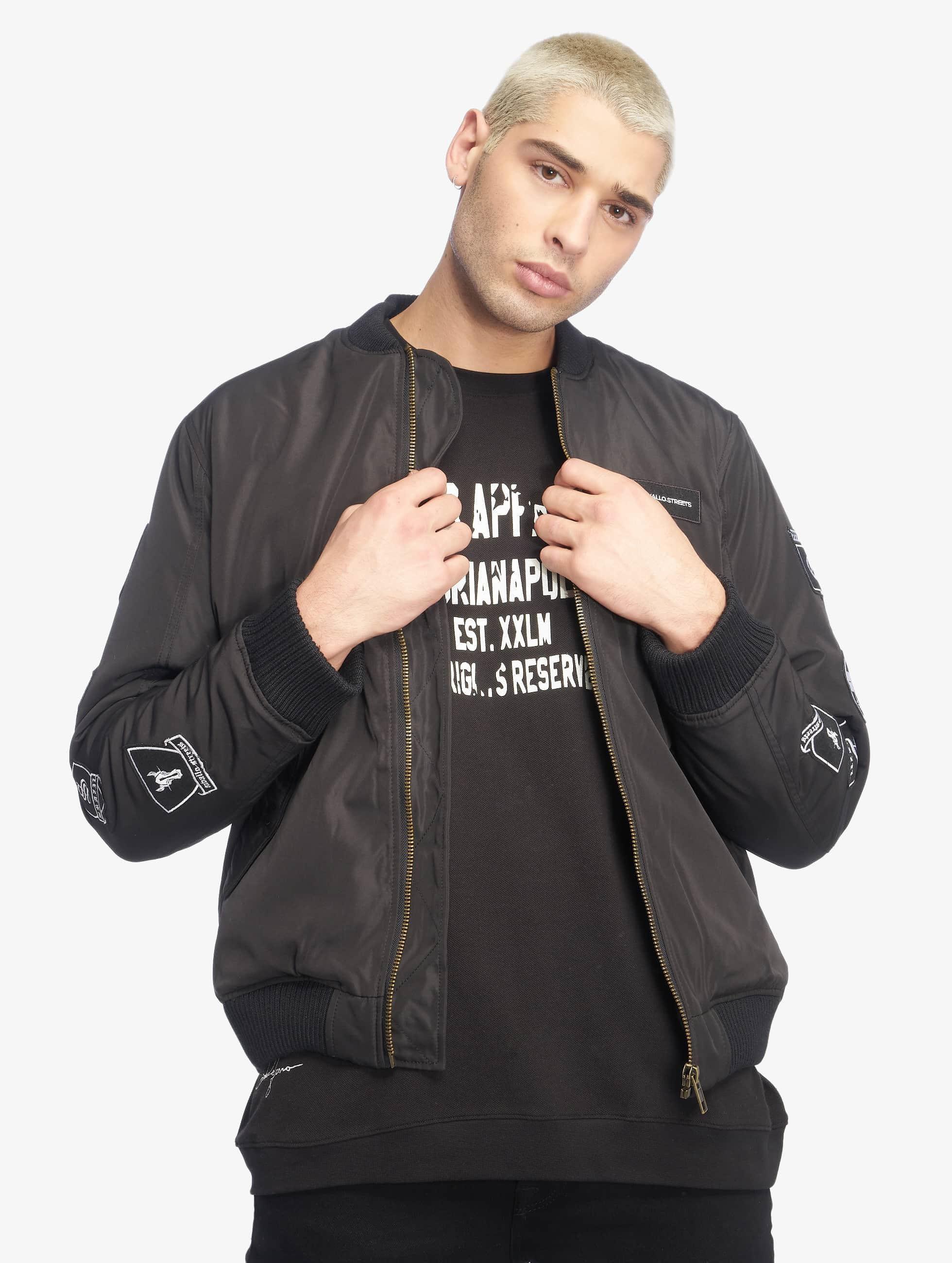Cavallo de Ferro / Bomber jacket Stereo in black XL