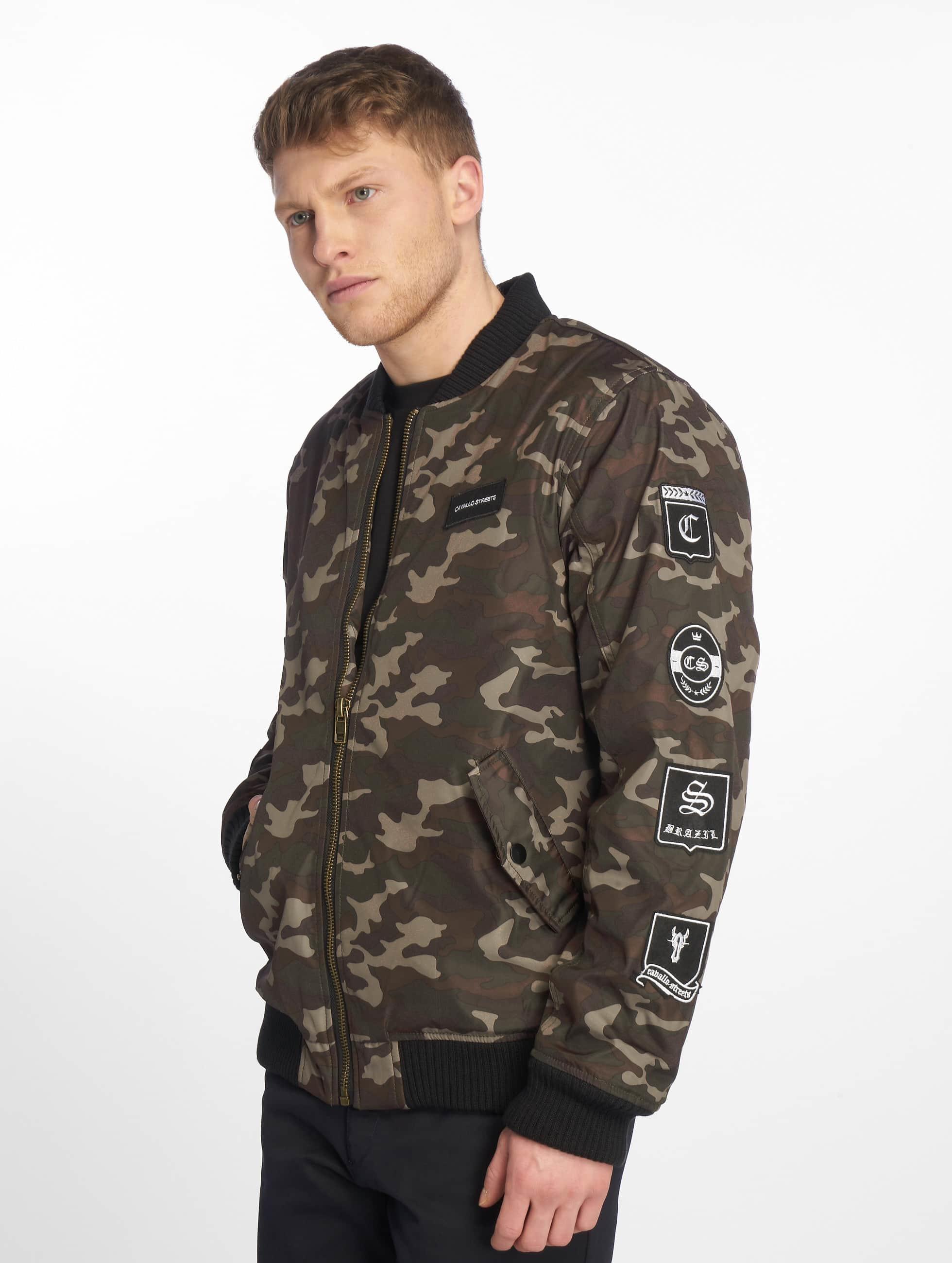 Cavallo de Ferro / Bomber jacket Stereo in camouflage XL