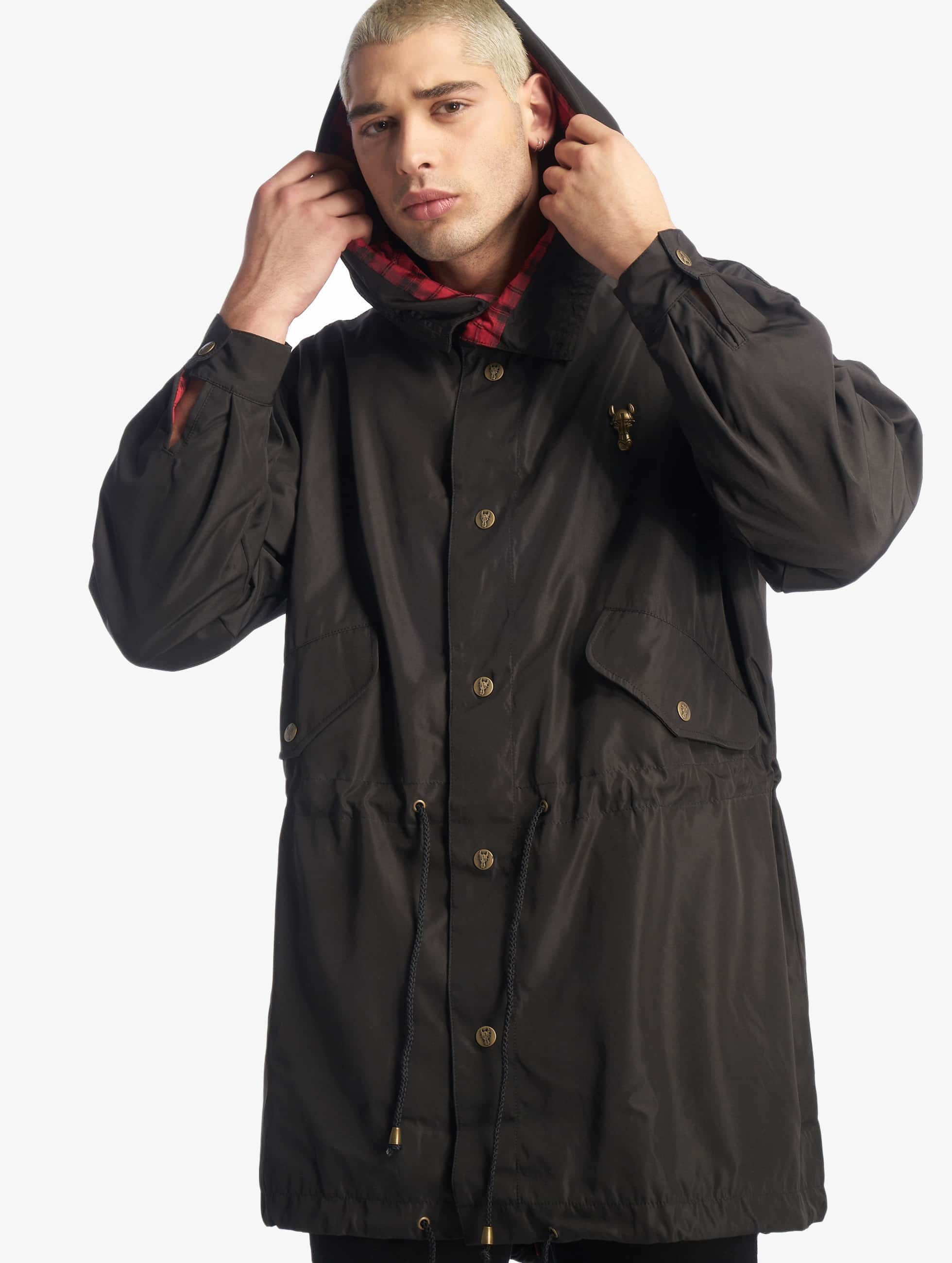 Cavallo de Ferro / Lightweight Jacket Mono in black XL