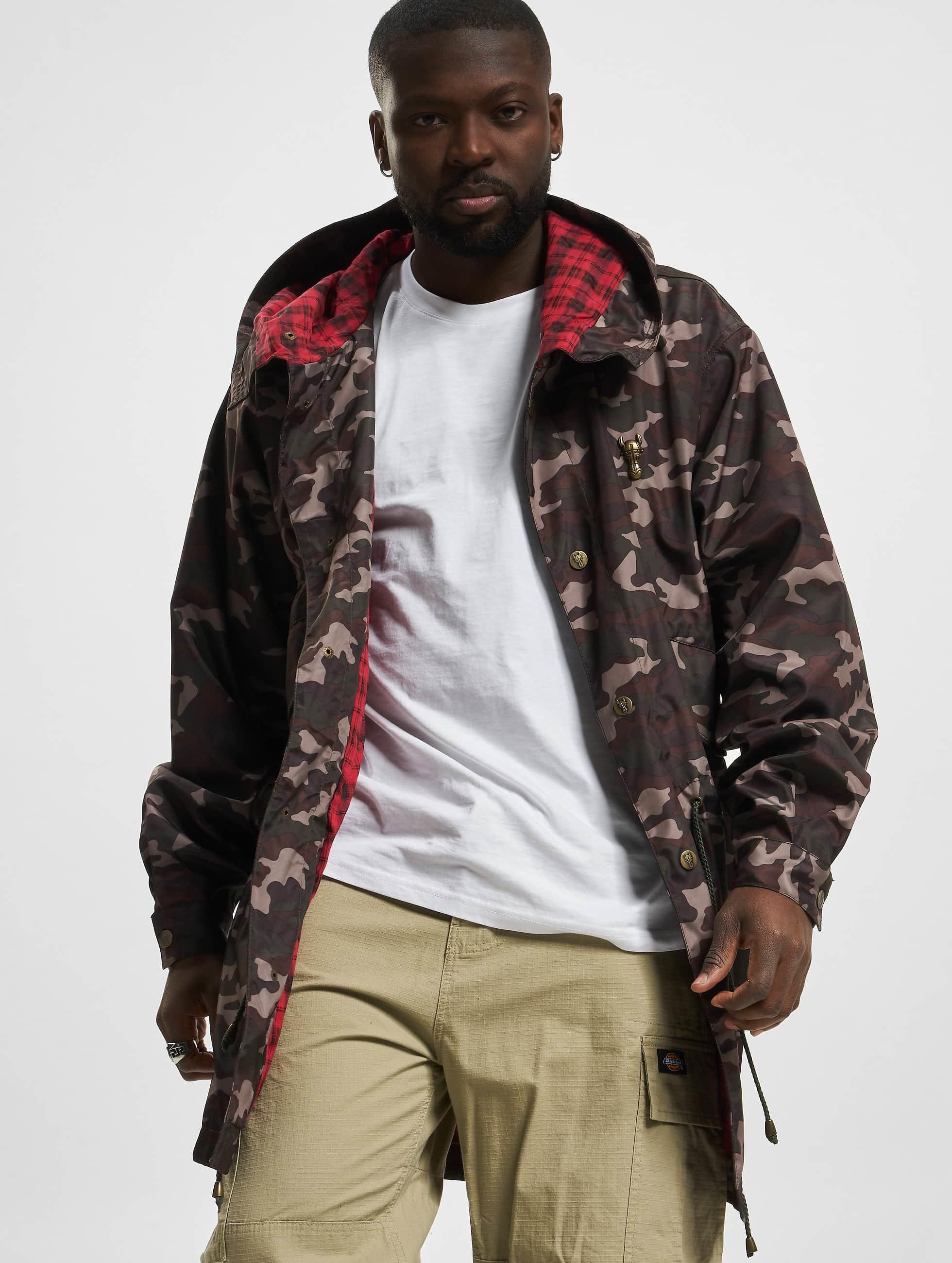 Cavallo de Ferro / Lightweight Jacket Mono in camouflage XL