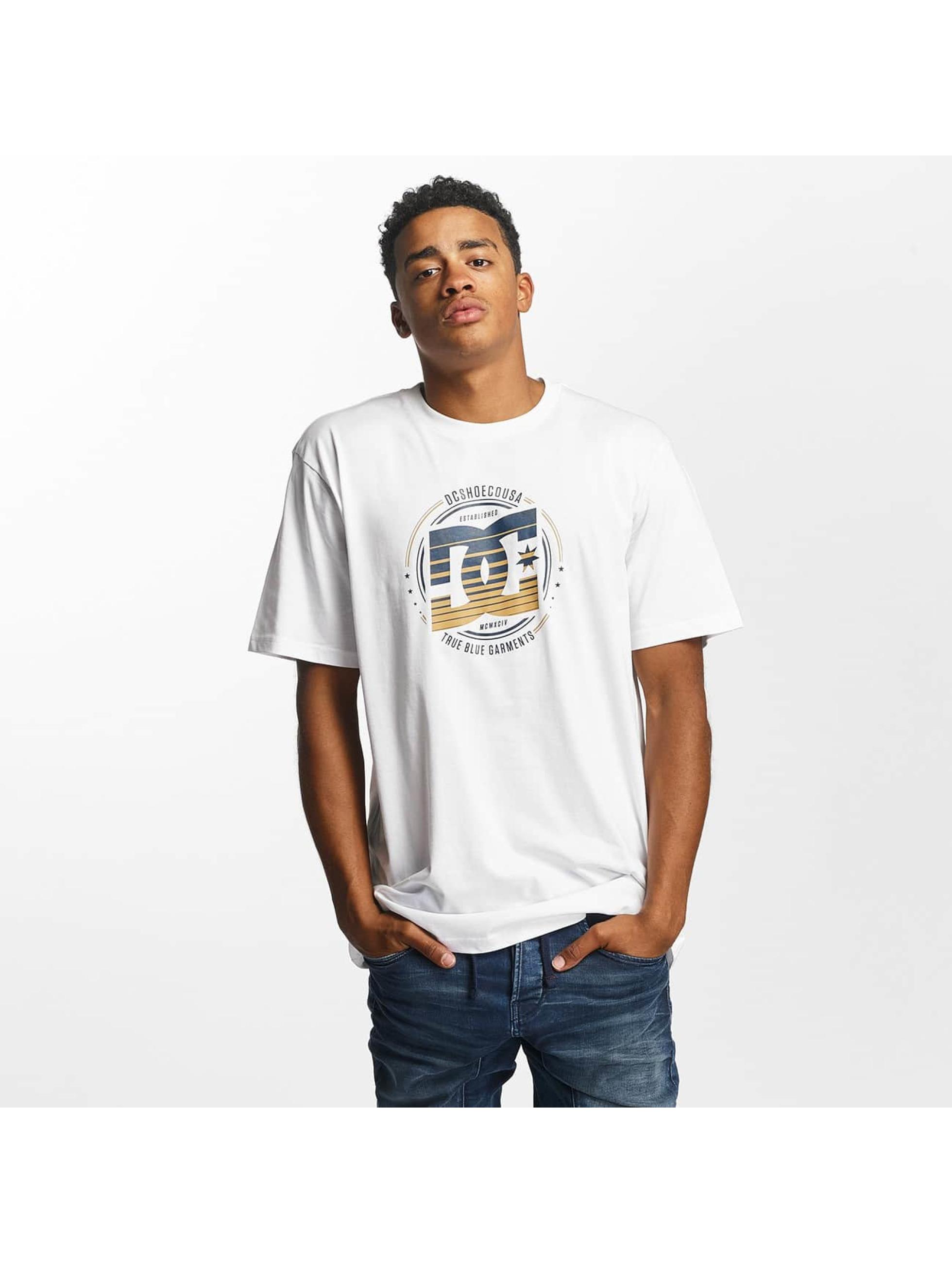 DC Männer T-Shirt Heraldry in weiß