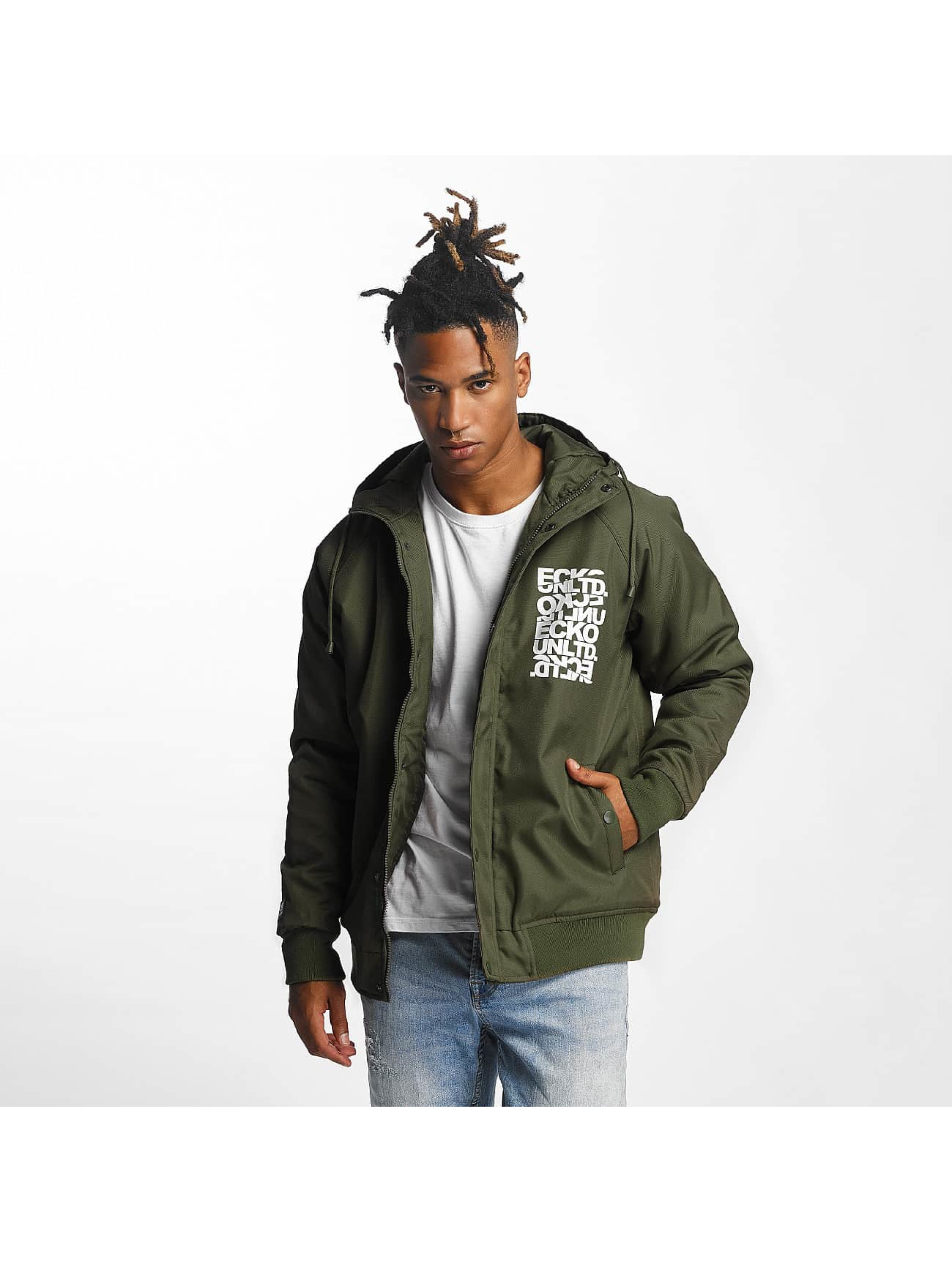 Ecko Unltd. / Winter Jacket Anorak in olive L
