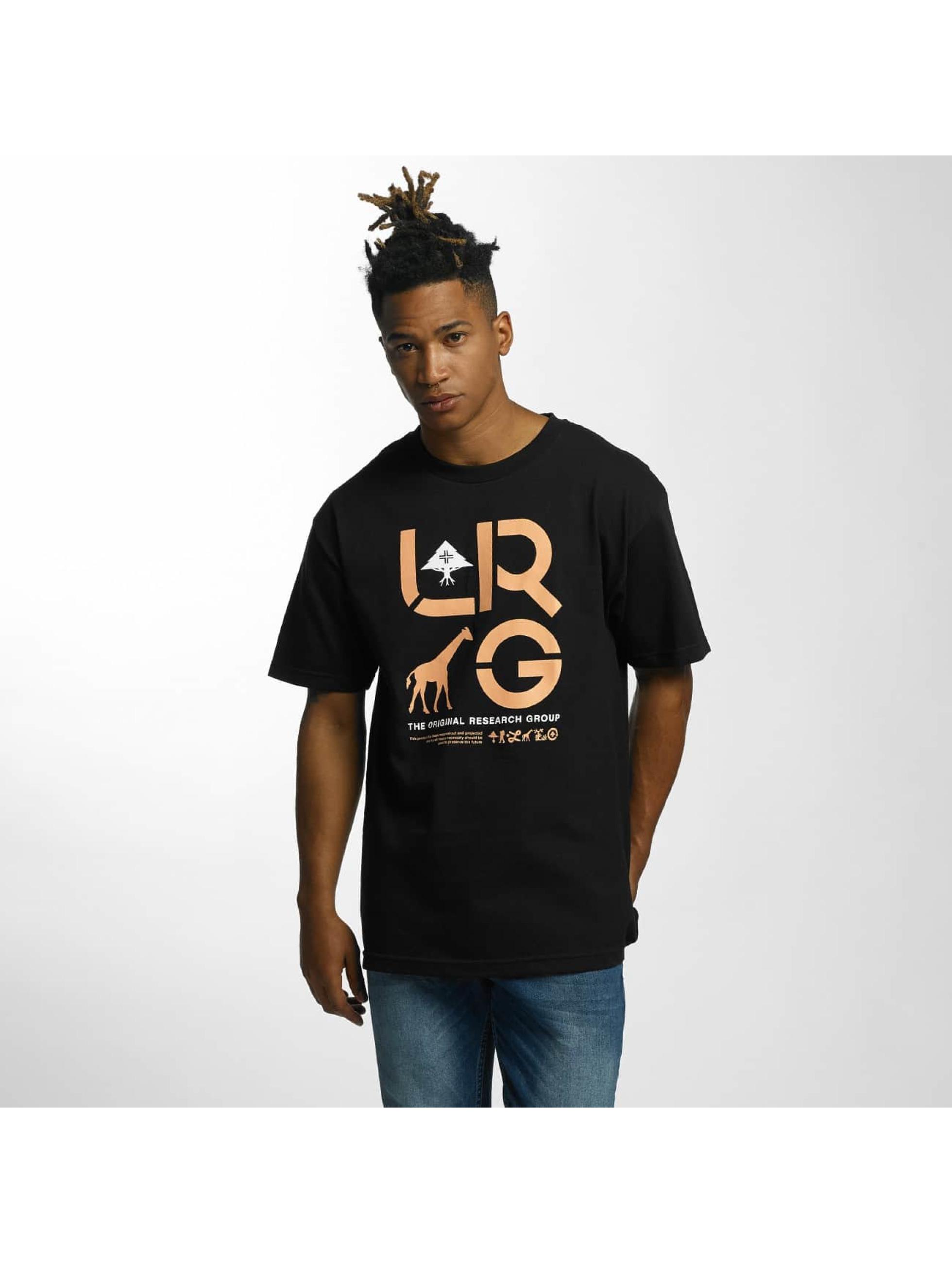 LRG Männer T-Shirt Cluster in schwarz