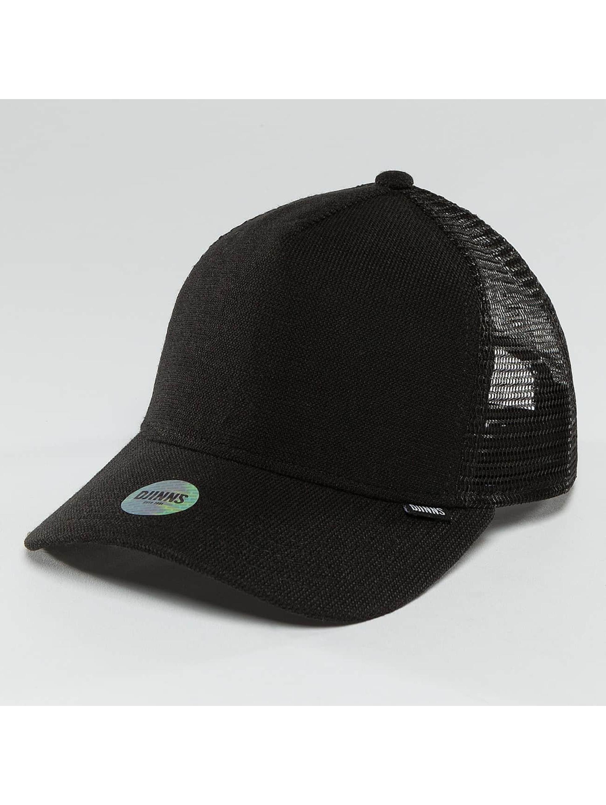 Djinns / Trucker Cap Djinnselux in black