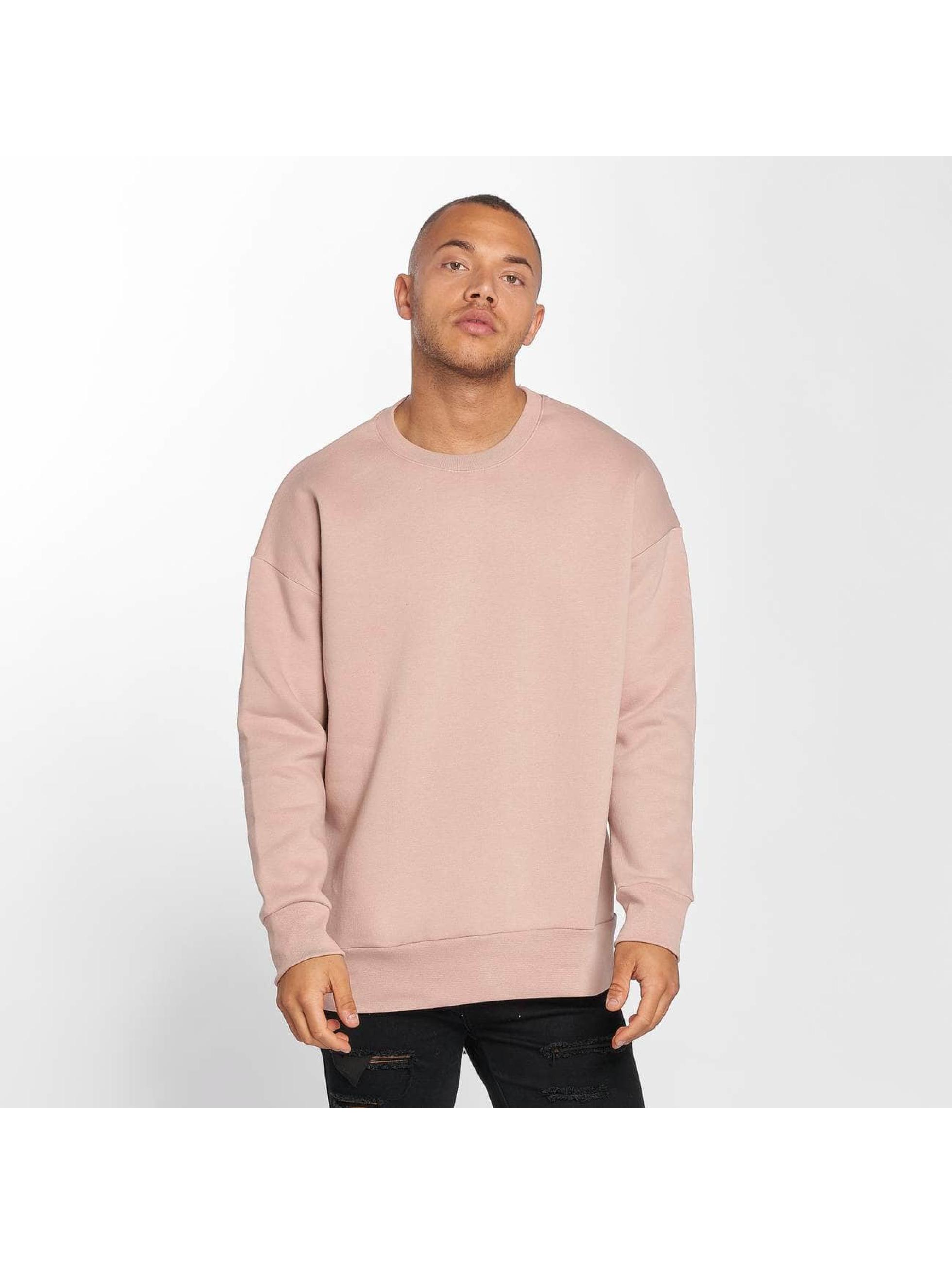 DEF Männer Pullover Basic in rosa
