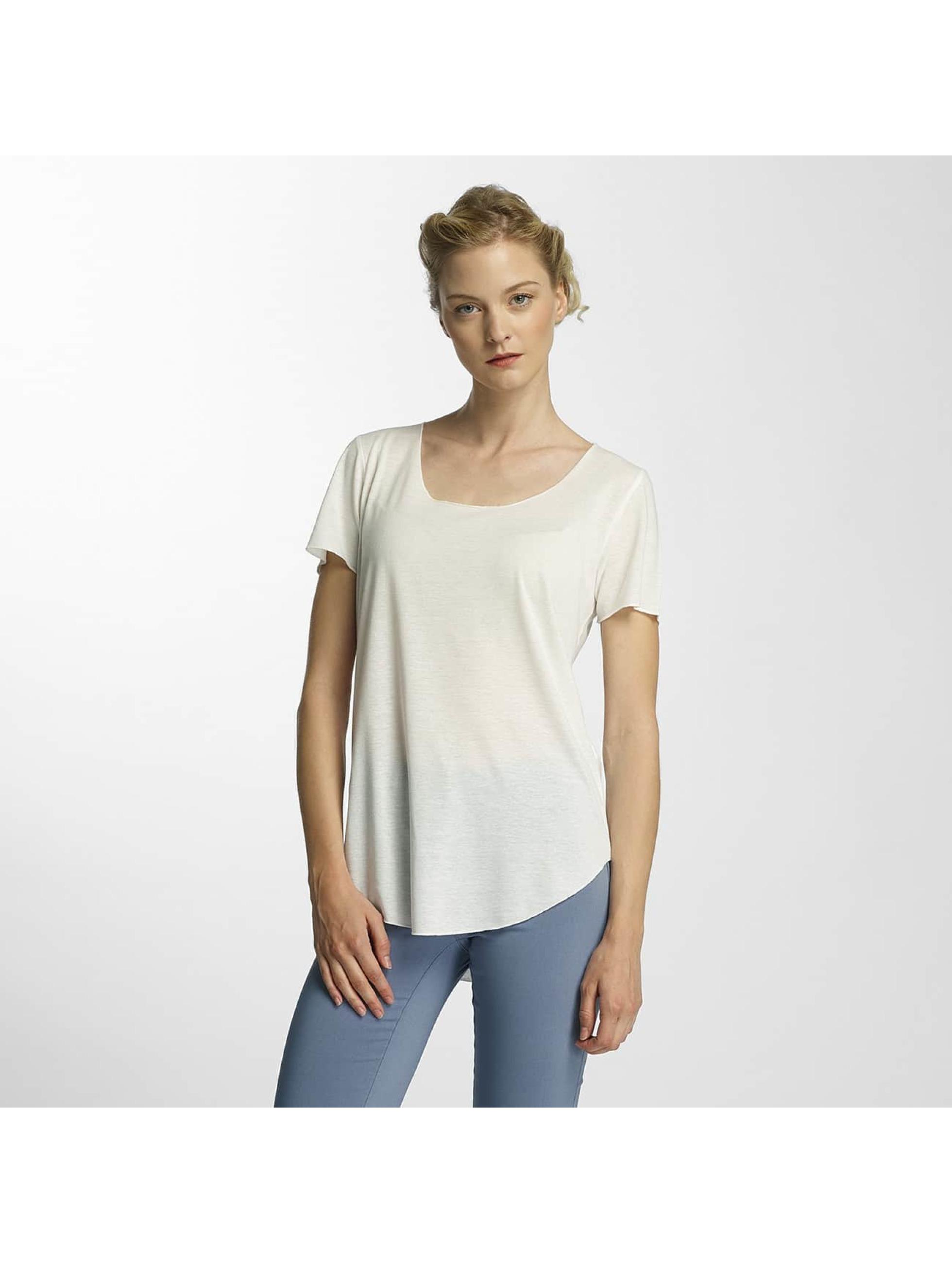 JACQUELINE de YONG Frauen T-Shirt jdyLinette in weiß