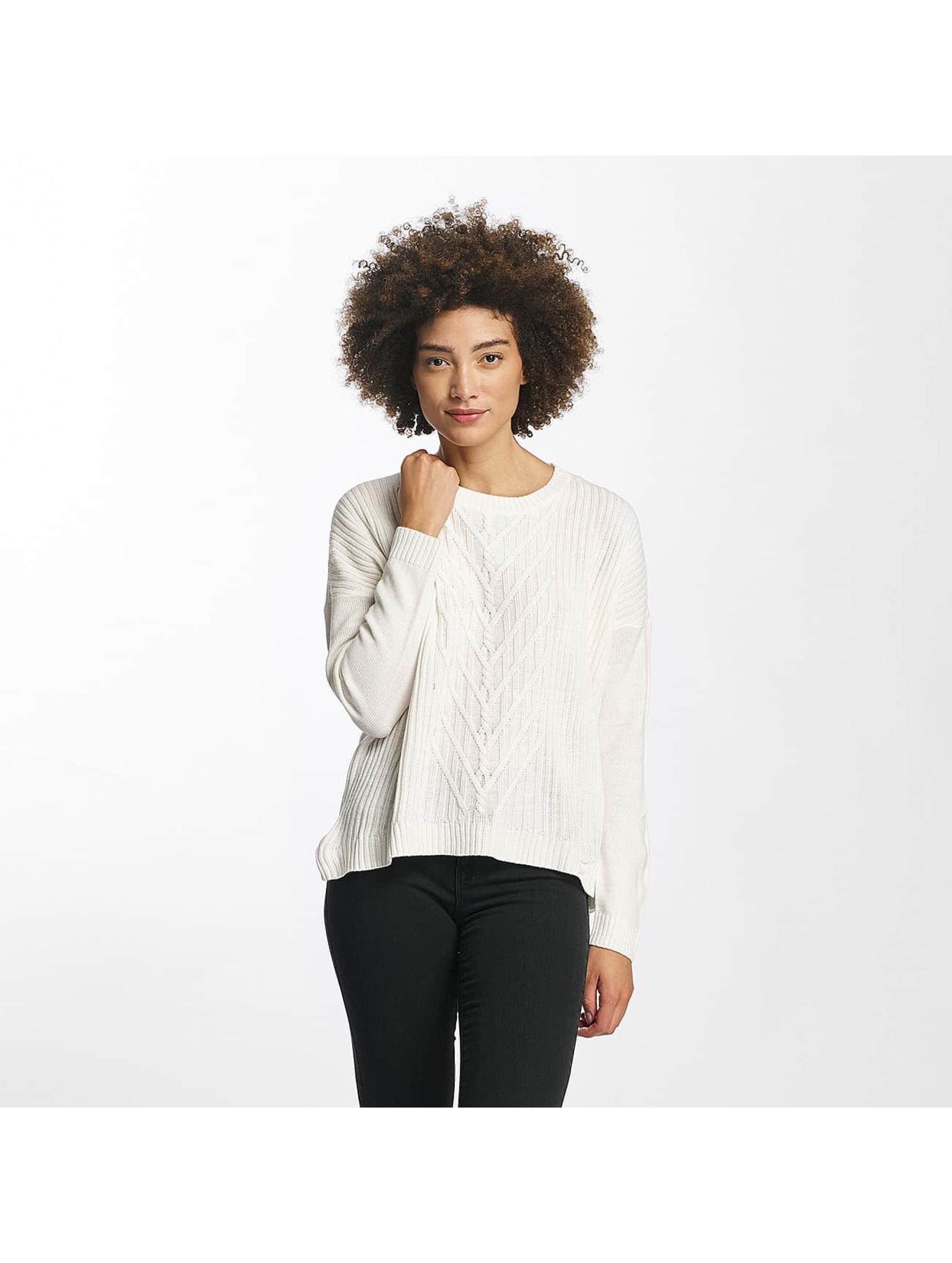 JACQUELINE de YONG Frauen Pullover jdyKeeks in weiß