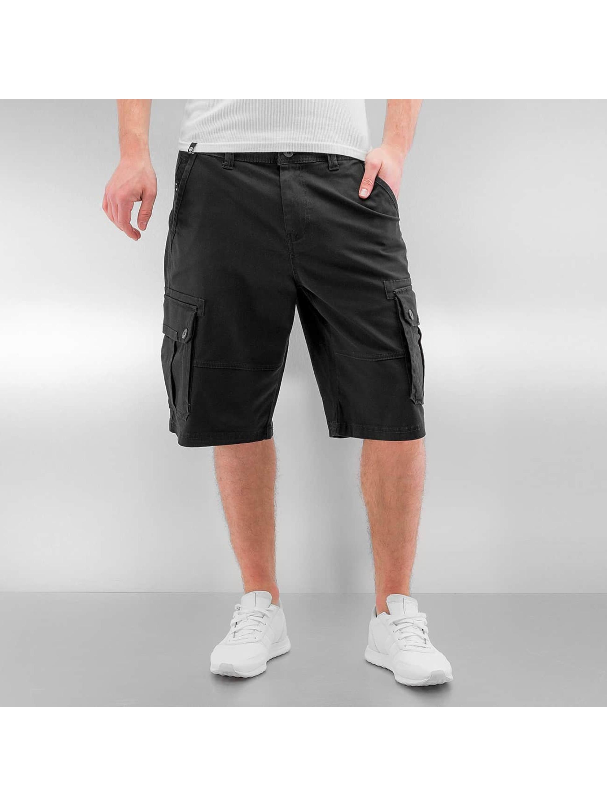 Southpole Männer Shorts Flex in schwarz