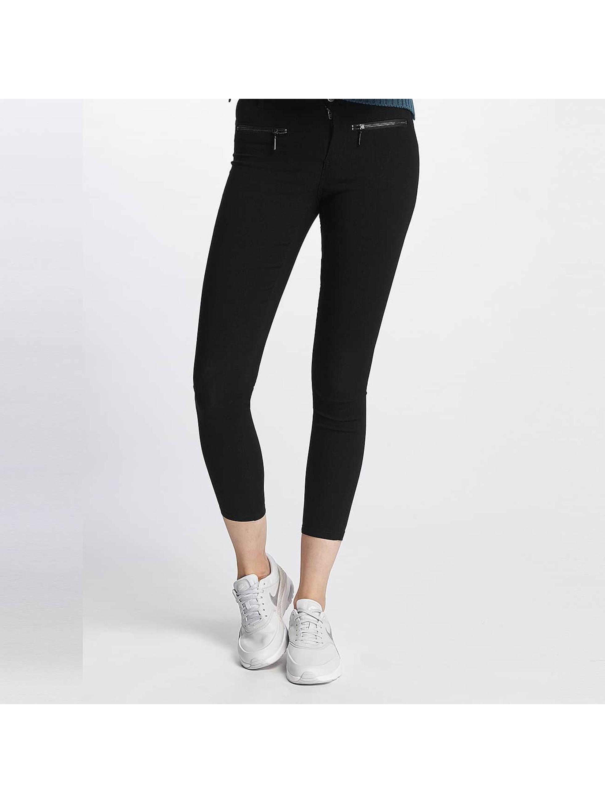JACQUELINE de YONG Frauen Skinny Jeans jdyThunder in schwarz