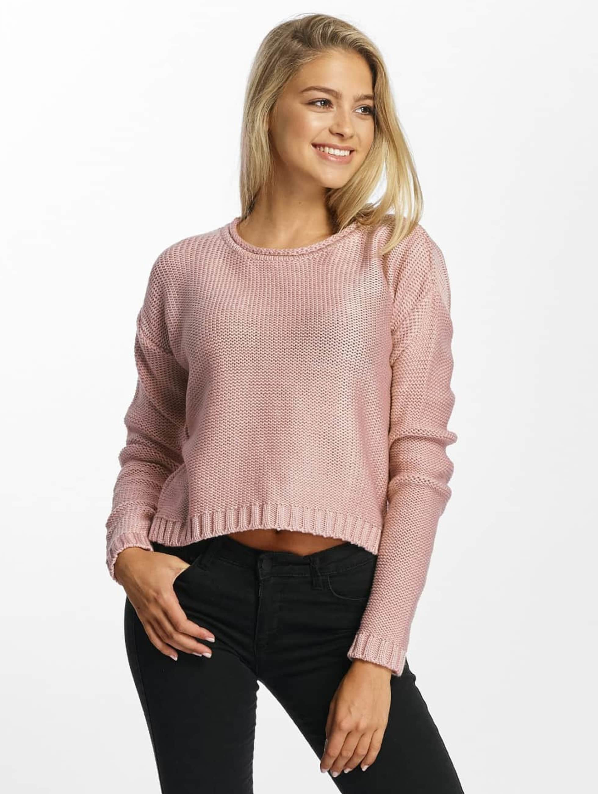 DEF Frauen Pullover Bozena in rosa