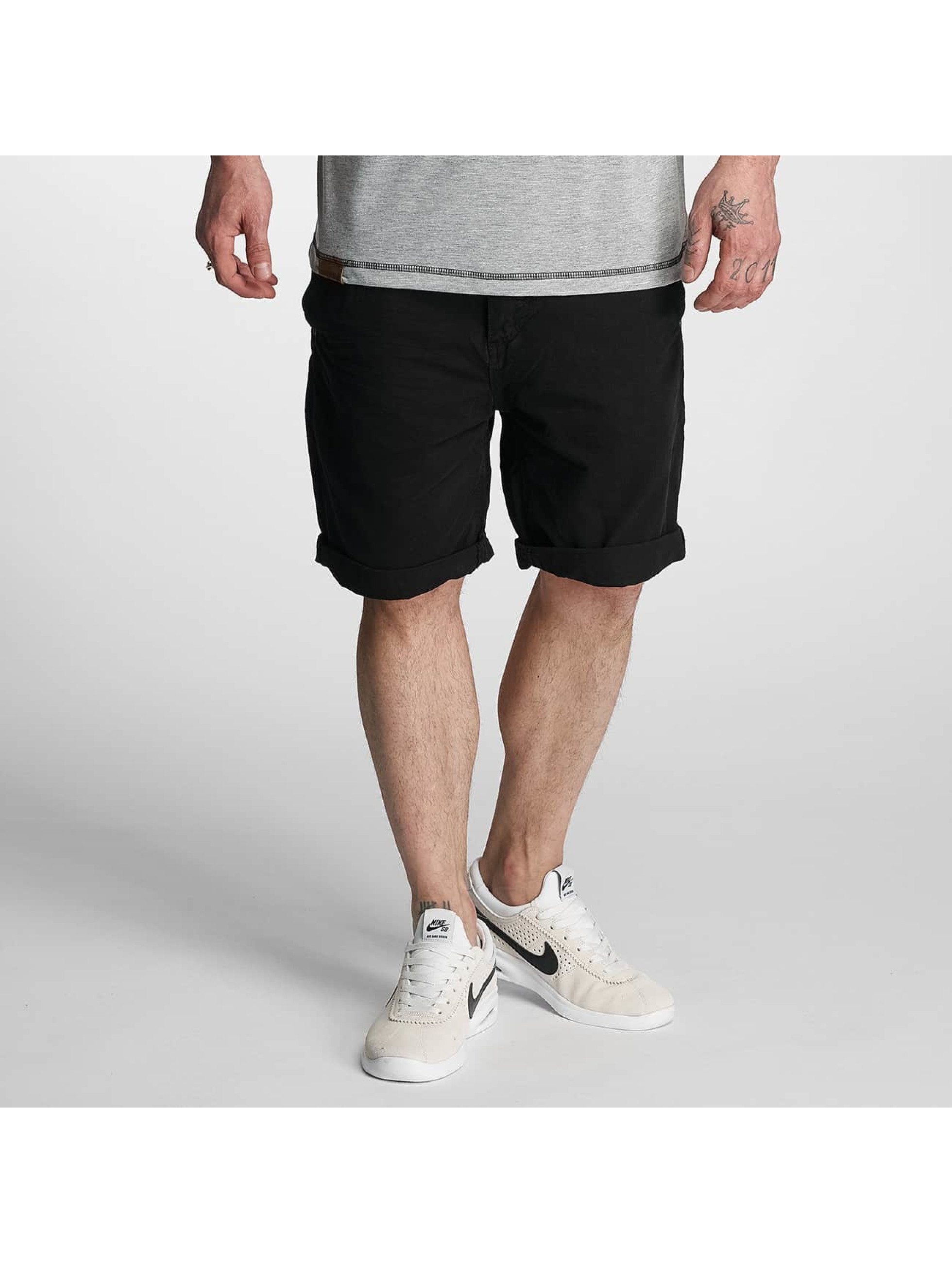 Urban Surface Männer Shorts Chino in schwarz