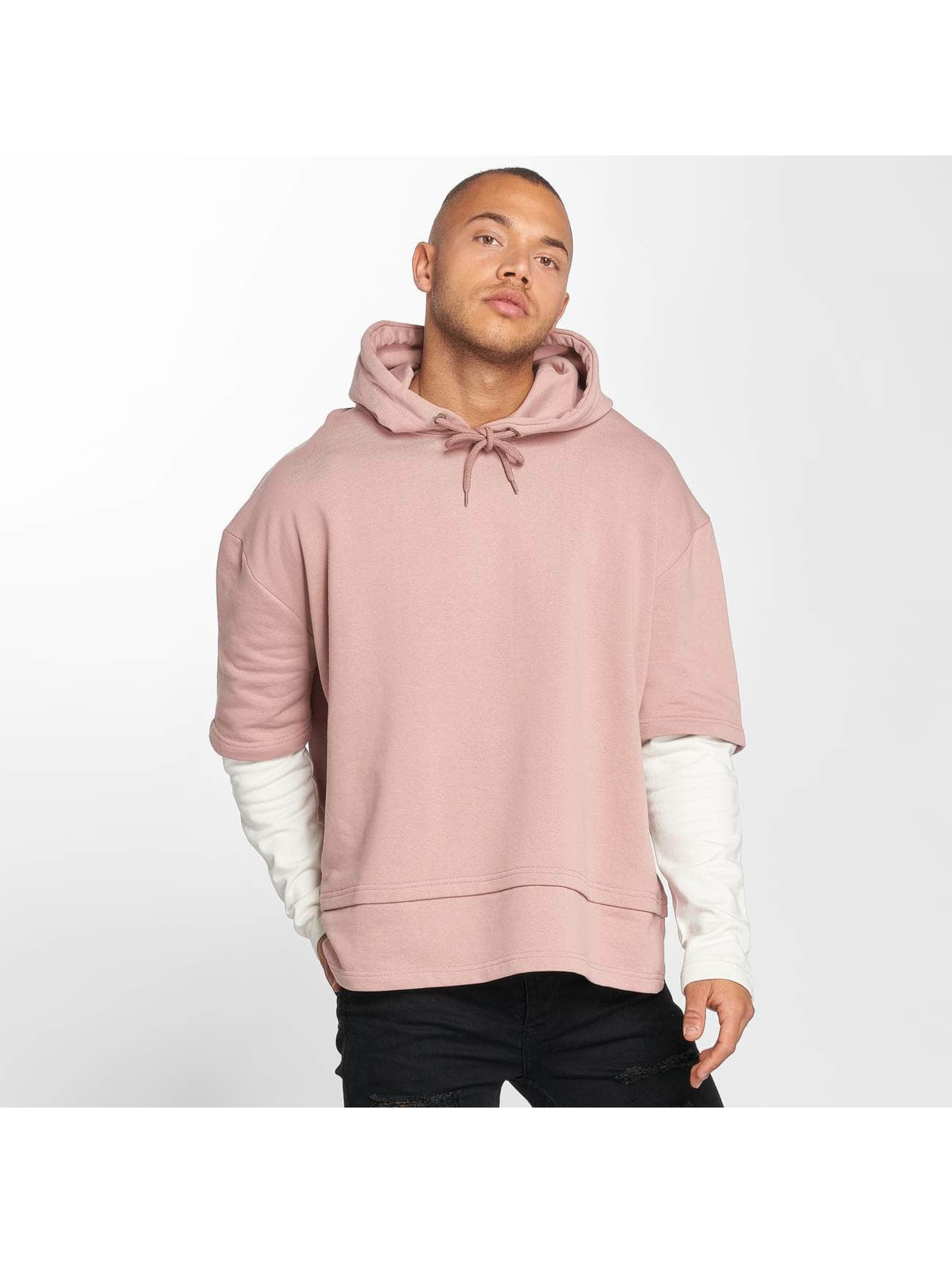DEF Männer Hoody Layers in rosa