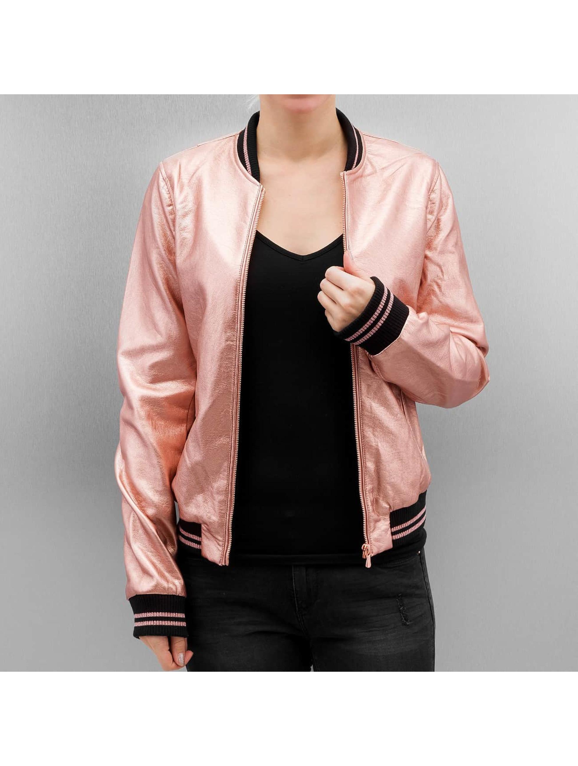 Rock Angel Frauen College Jacke Elodie in rosa