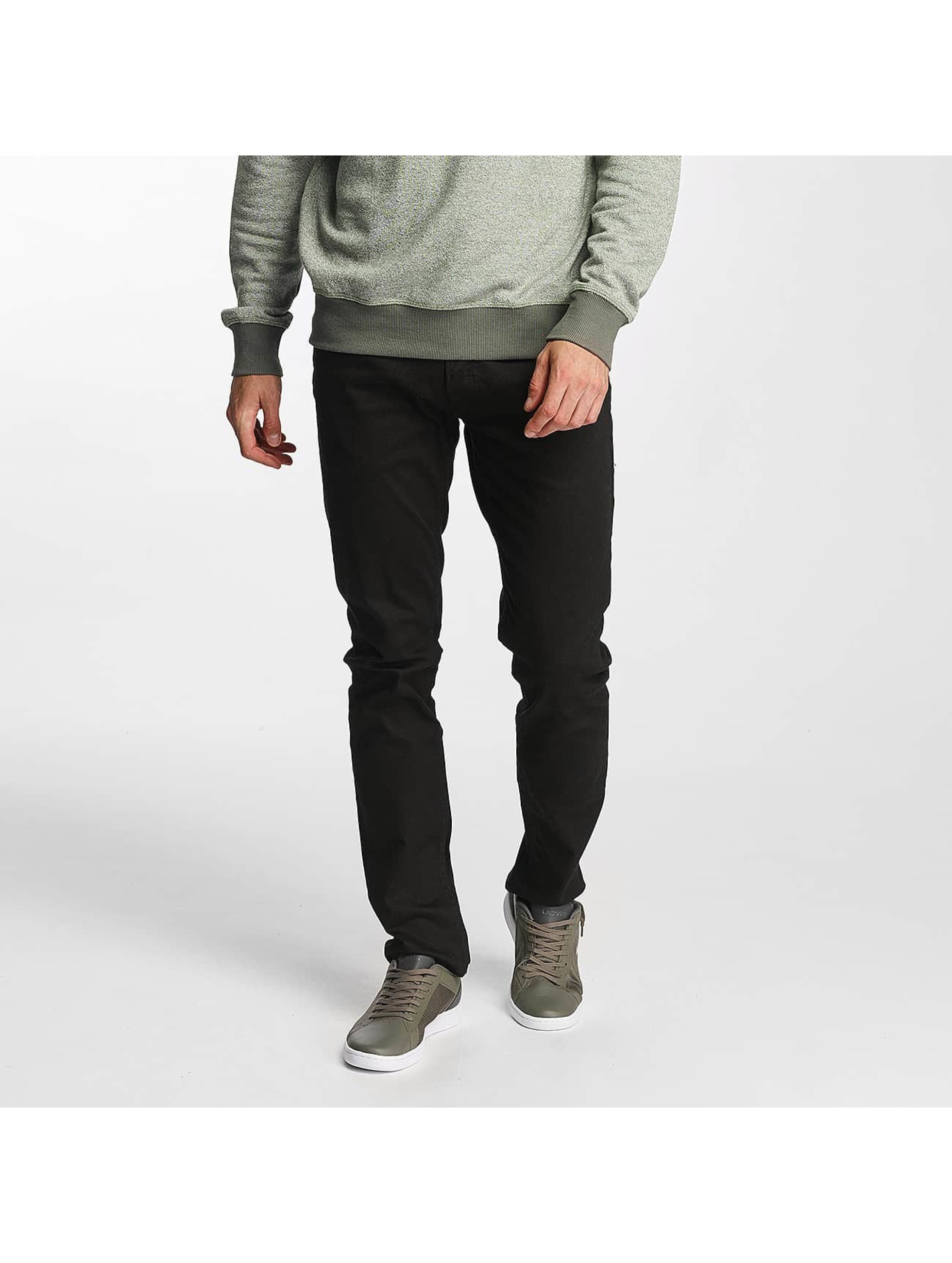 Jack & Jones Männer Skinny Jeans jjTim in schwarz