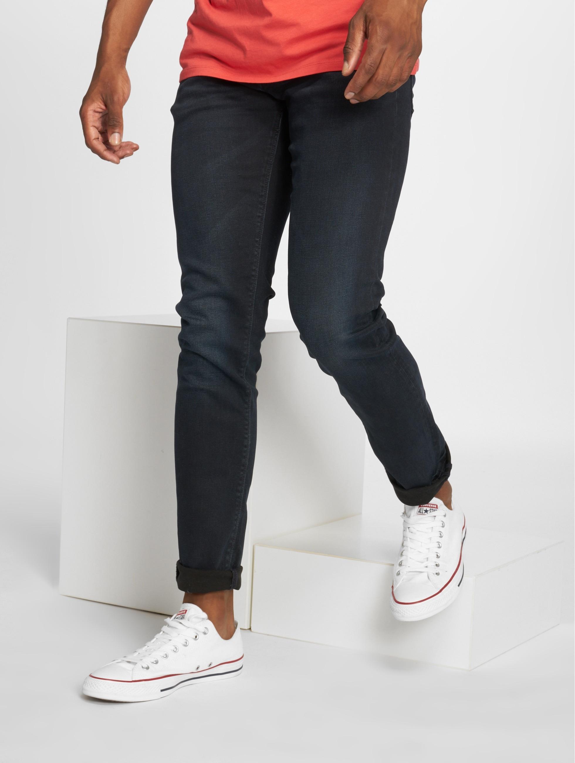Jack & Jones Männer Slim Fit Jeans jjGlenn Felix AM 458 in blau