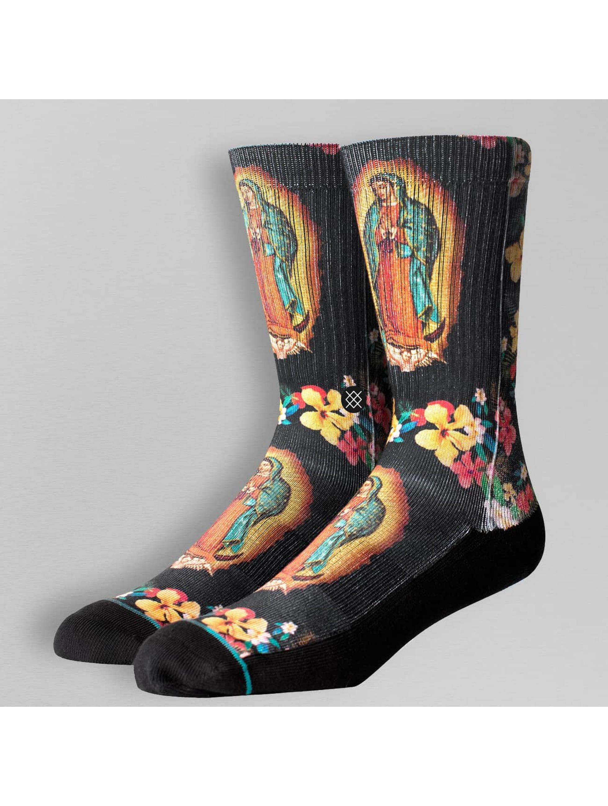 Stance Männer Socken Madre Santa in schwarz