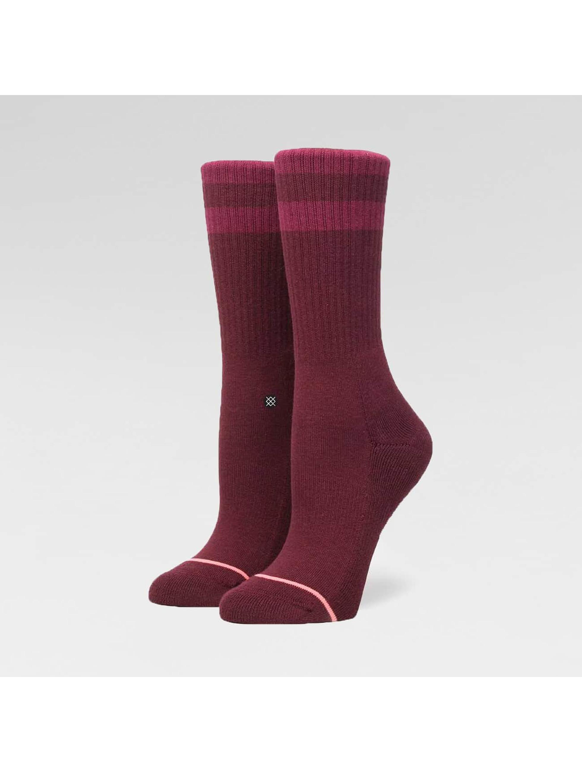 Stance Frauen Socken Uncommon Classic Crew in rot