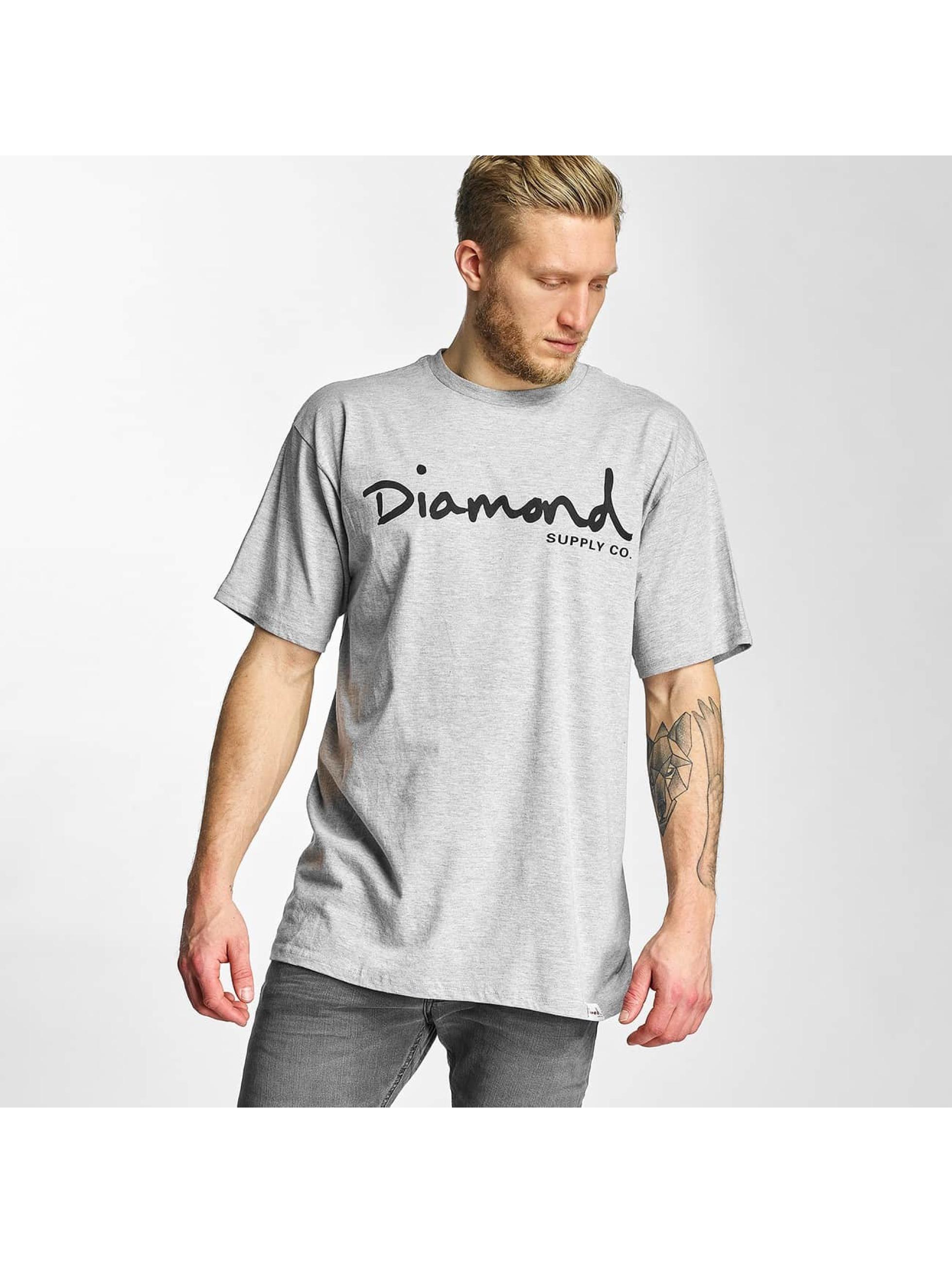 Diamond Männer T-Shirt OG Script in grau