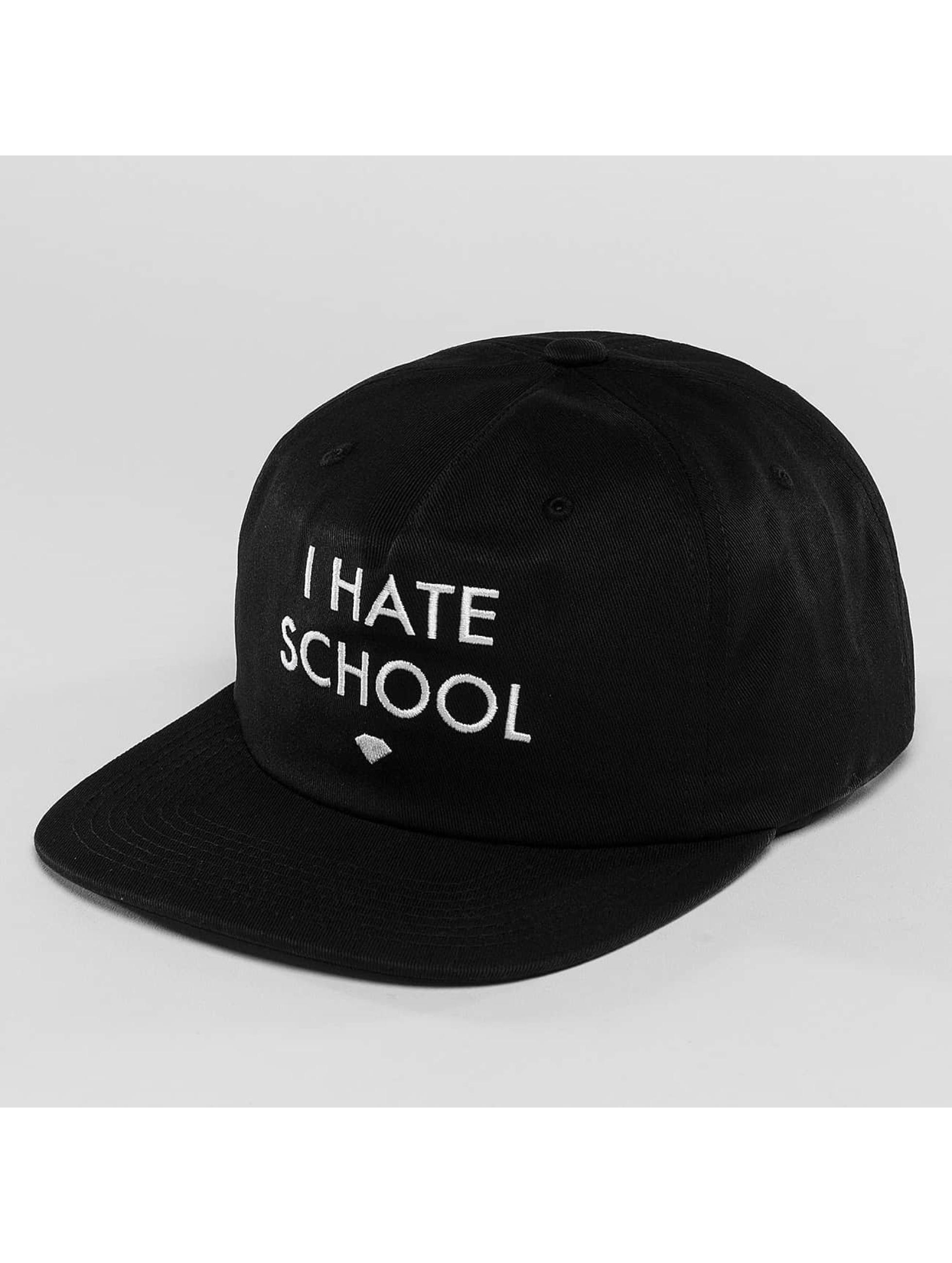 Diamond Männer,Frauen Snapback Cap I Hate School in schwarz