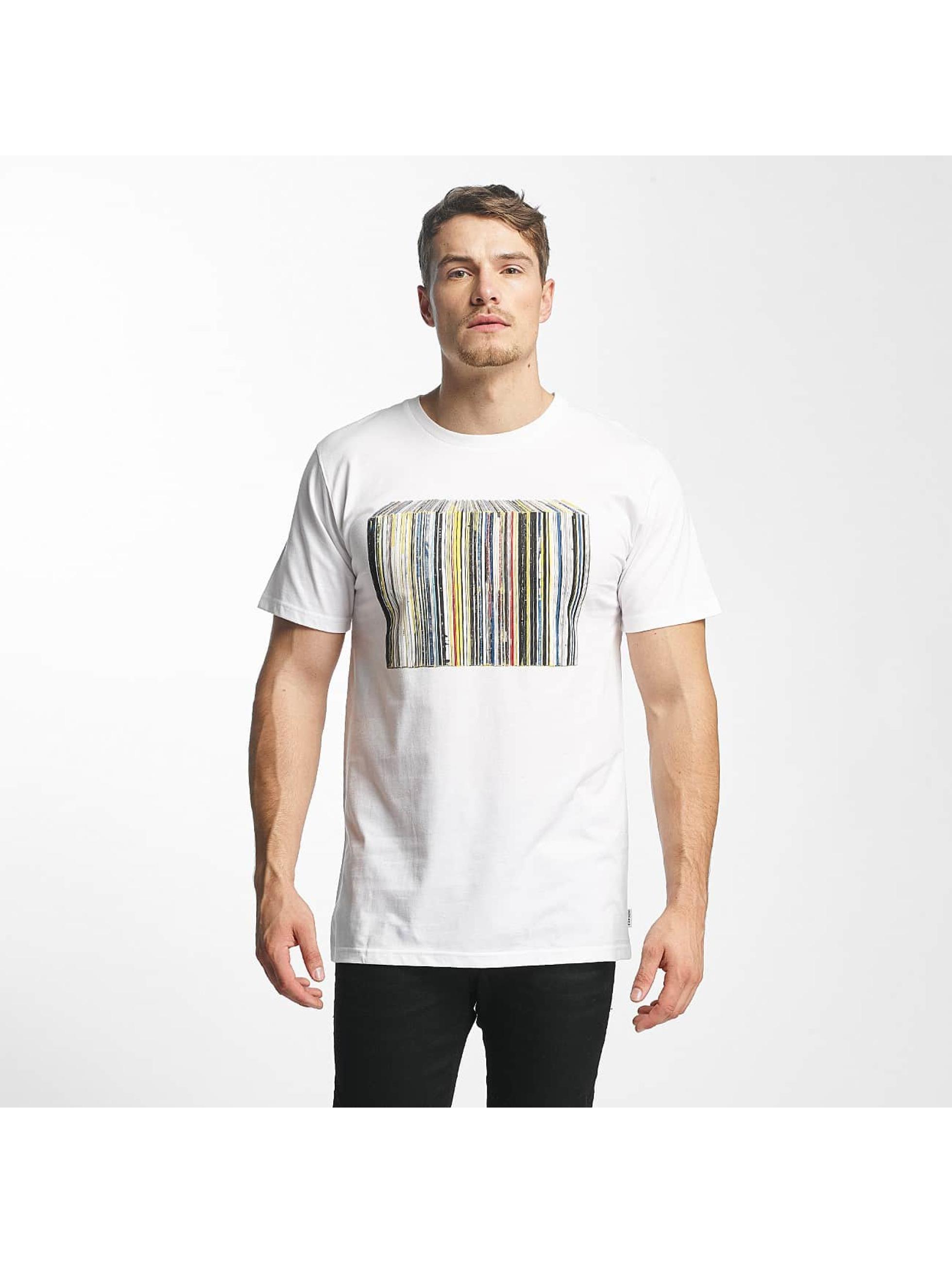 DEDICATED Männer T-Shirt Vinyl Collection in weiß