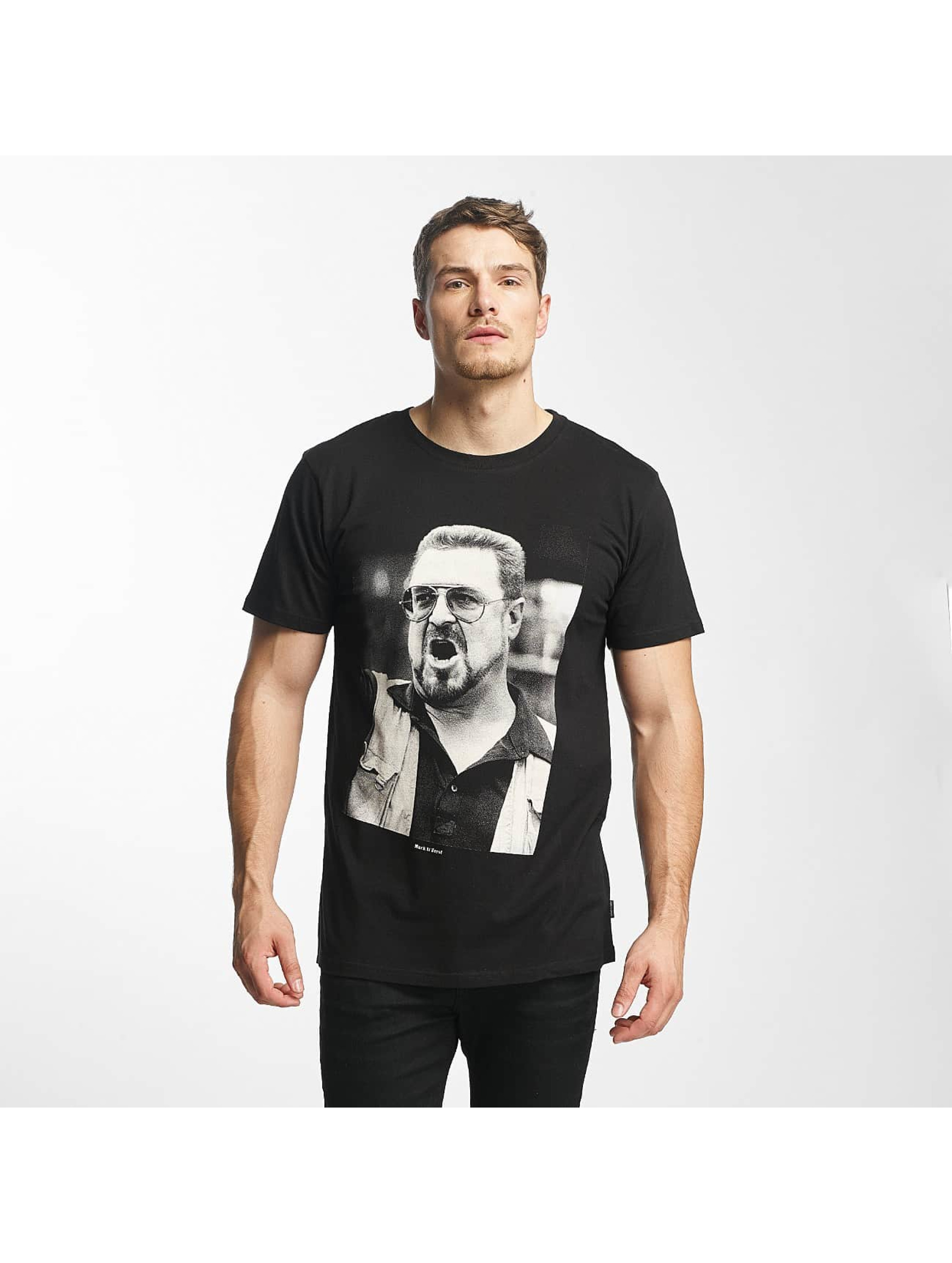 DEDICATED Männer T-Shirt Walter in schwarz