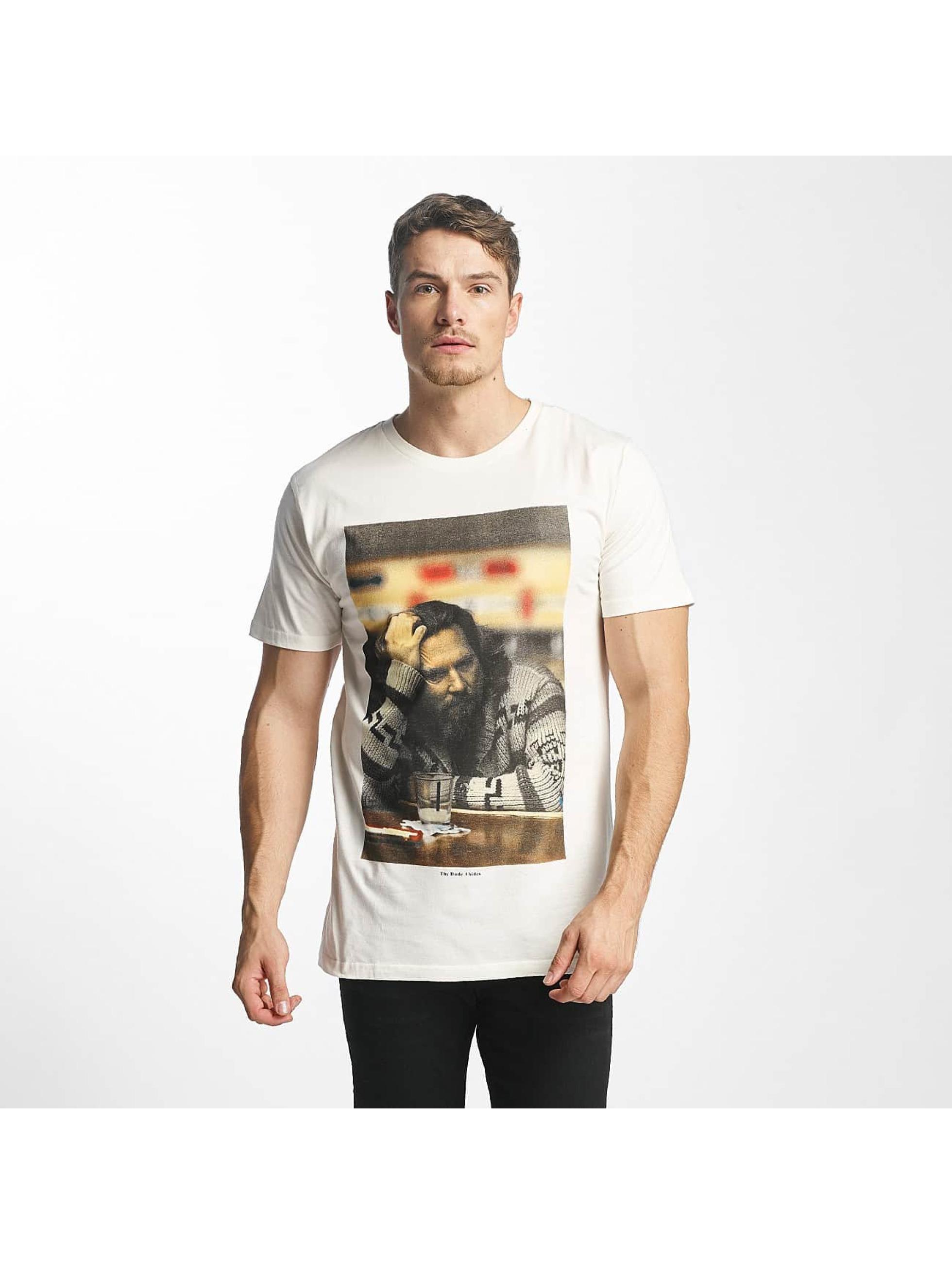 DEDICATED Männer T-Shirt The Dude in weiß