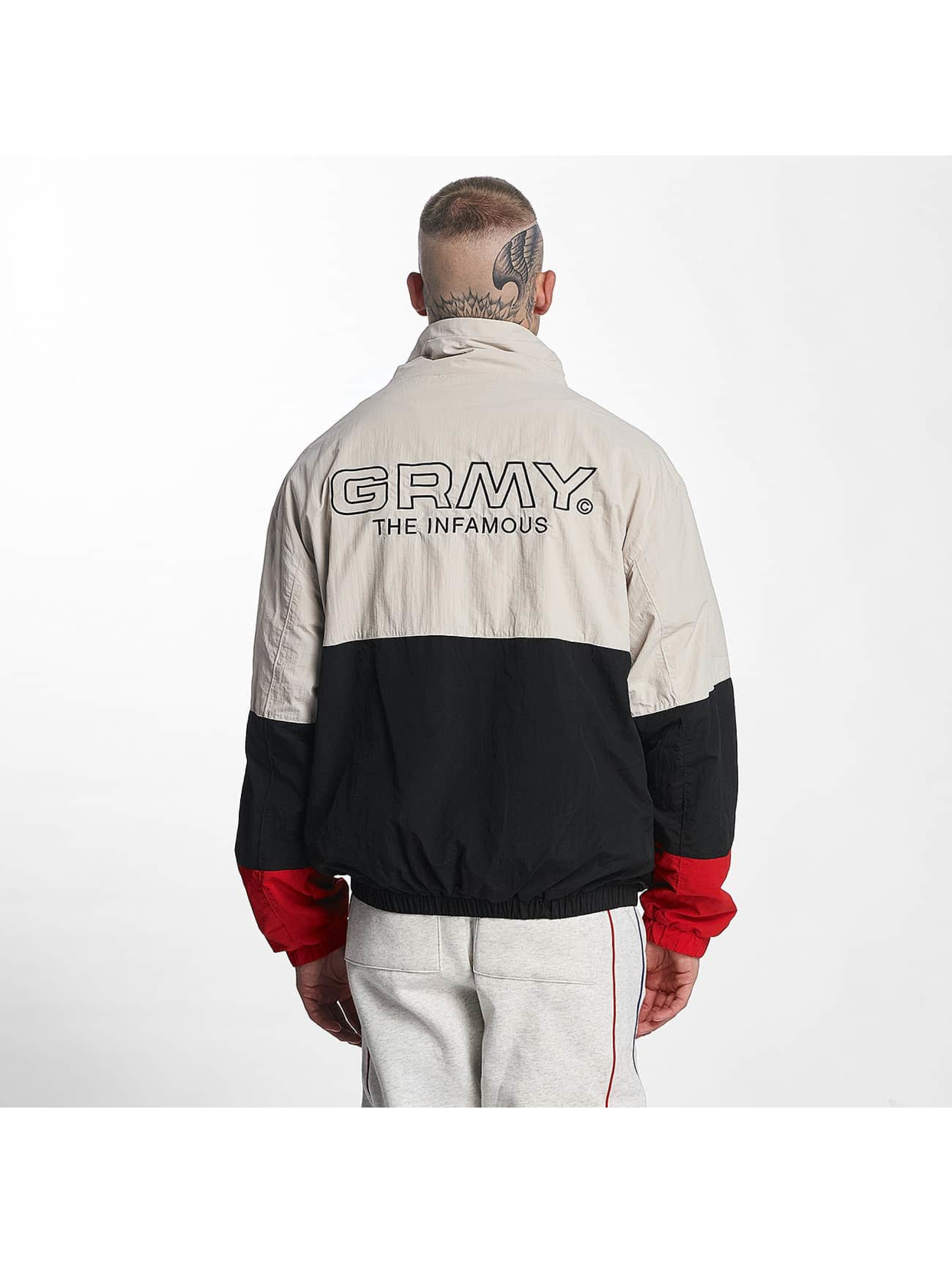 Grimey Wear Männer Übergangsjacke G-Skills in schwarz
