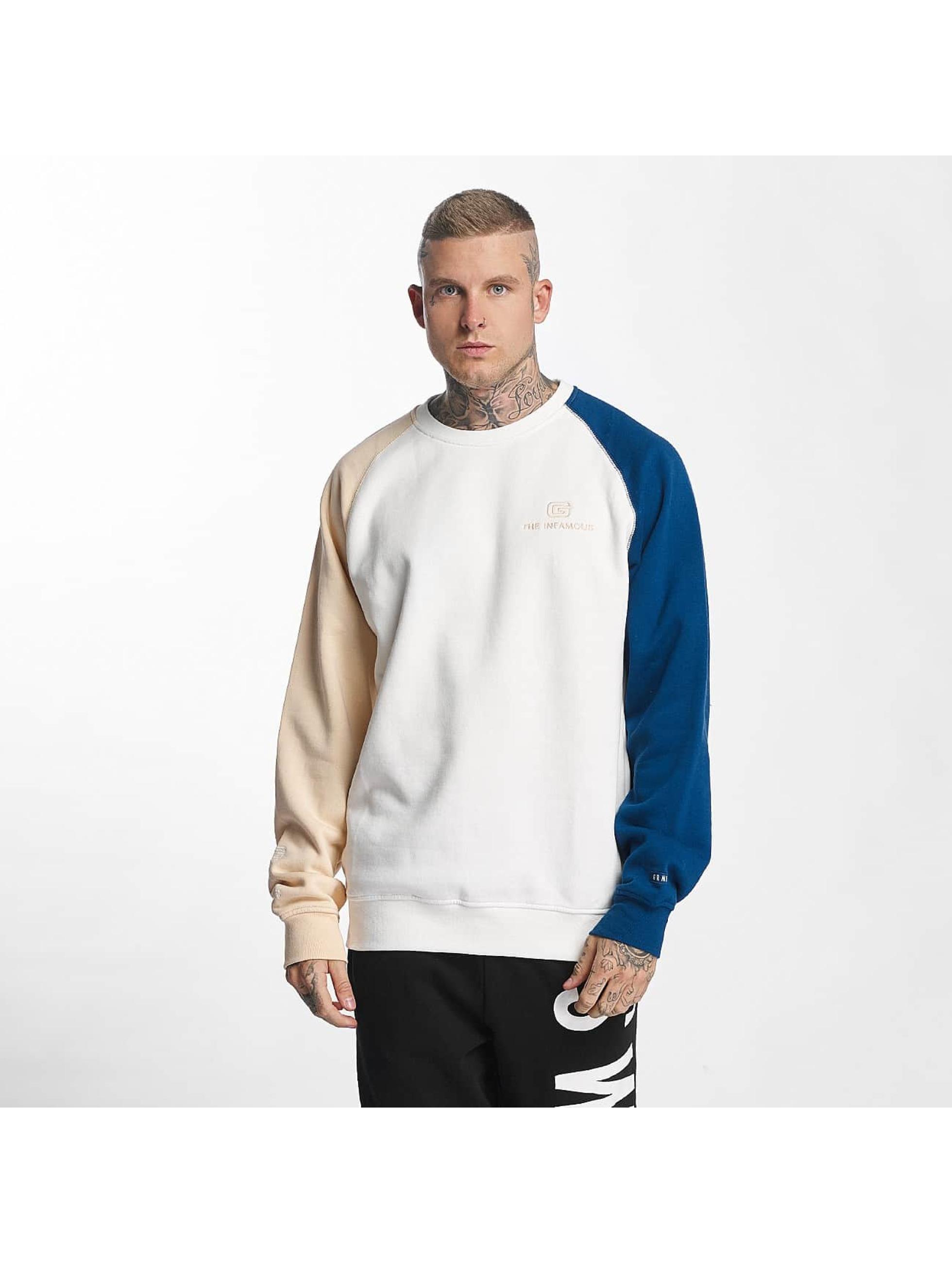 Grimey Wear Männer Pullover G-Skills in weiß - broschei