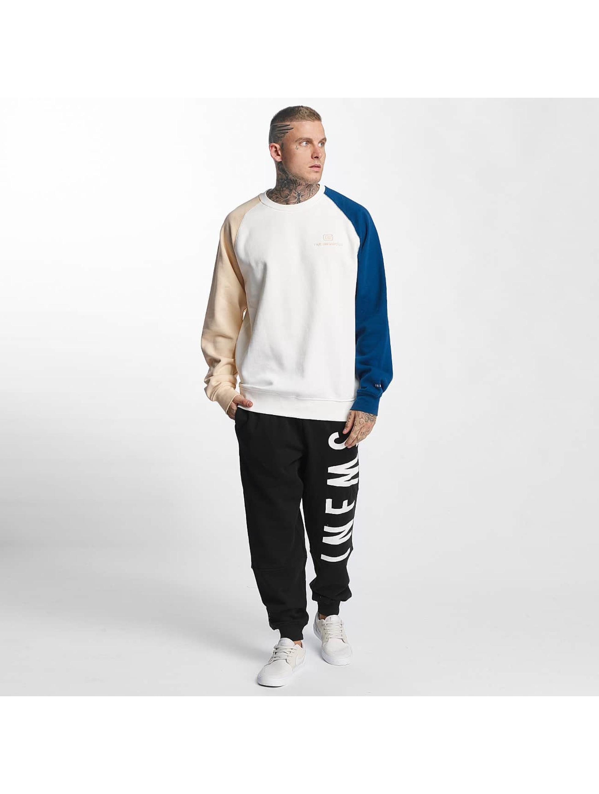 Grimey Wear Männer Pullover G-Skills in weiß