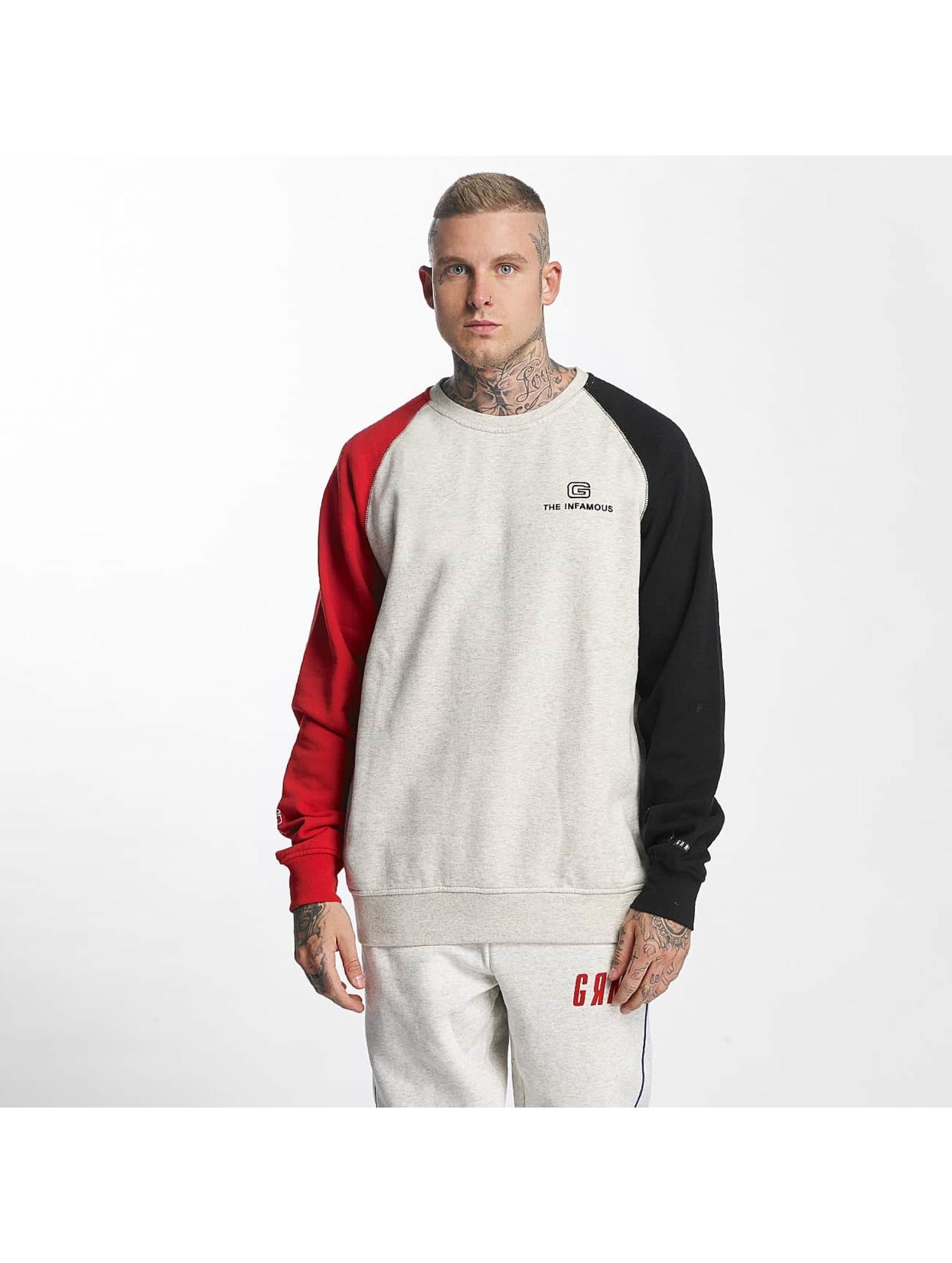 Grimey Wear Männer Pullover G-Skills in grau - broschei