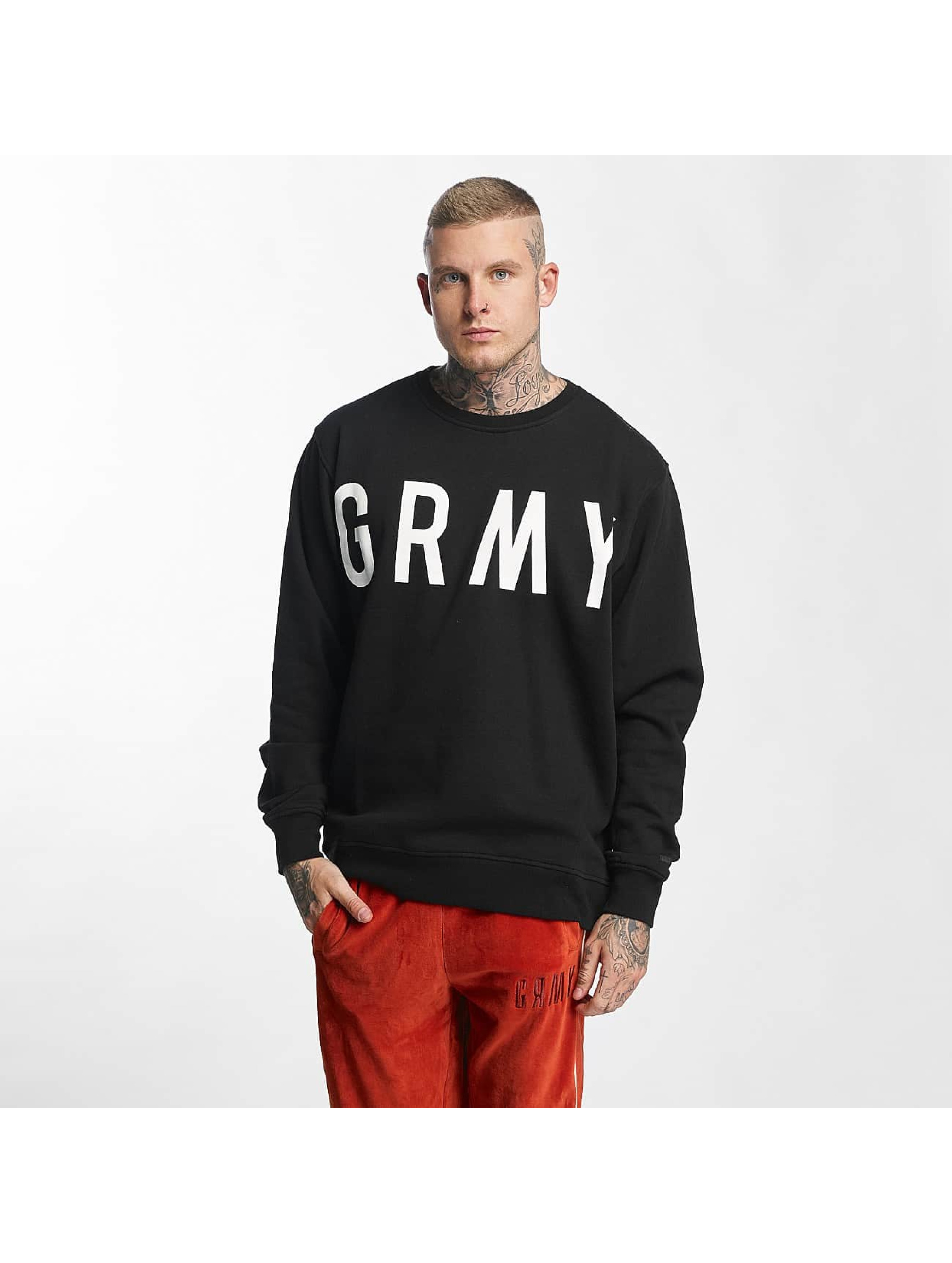 Grimey Wear Männer Pullover Infamous Heritage in schwarz