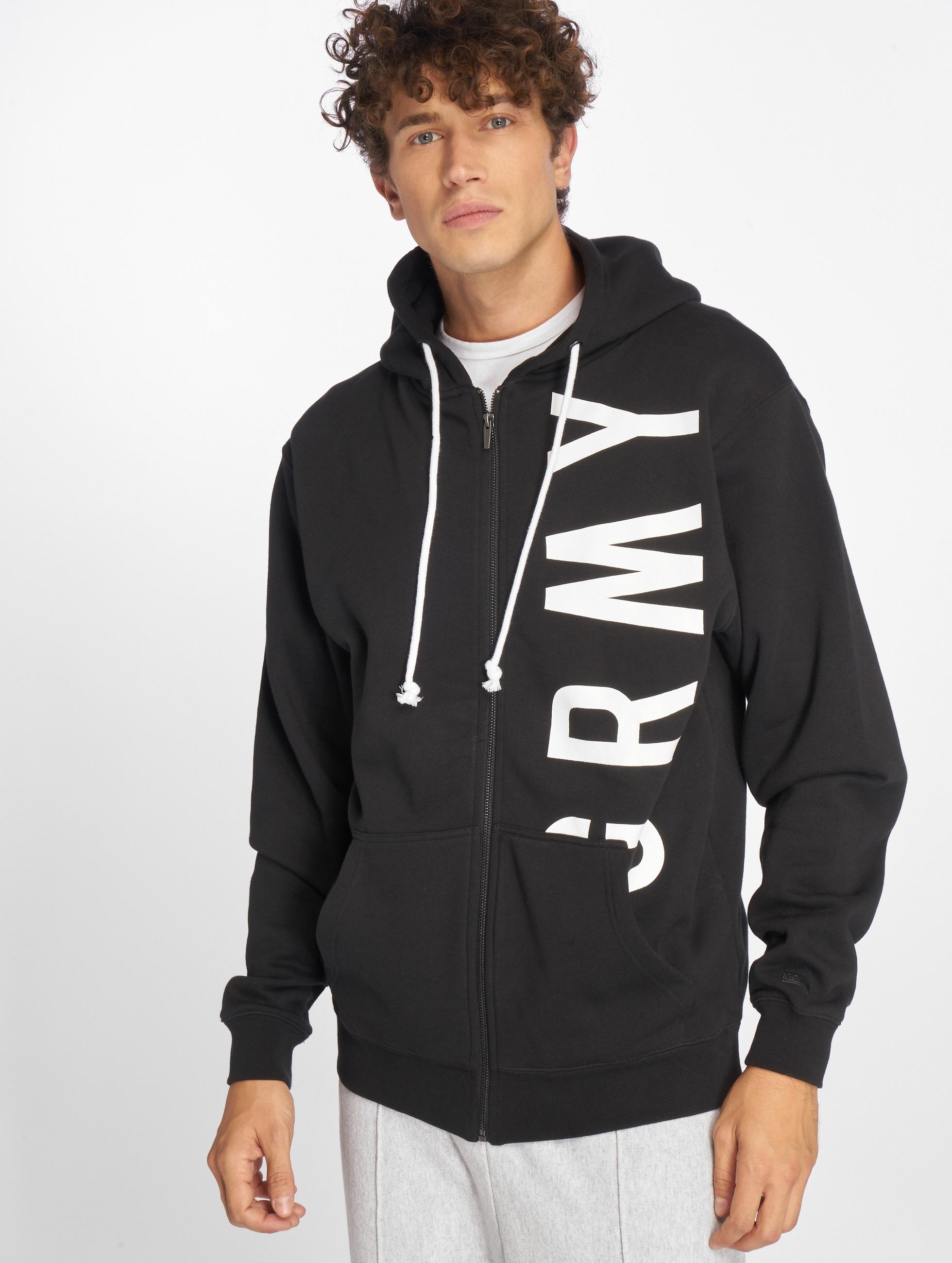 Grimey Wear Männer Zip Hoodie Heritage Infamous in schwarz