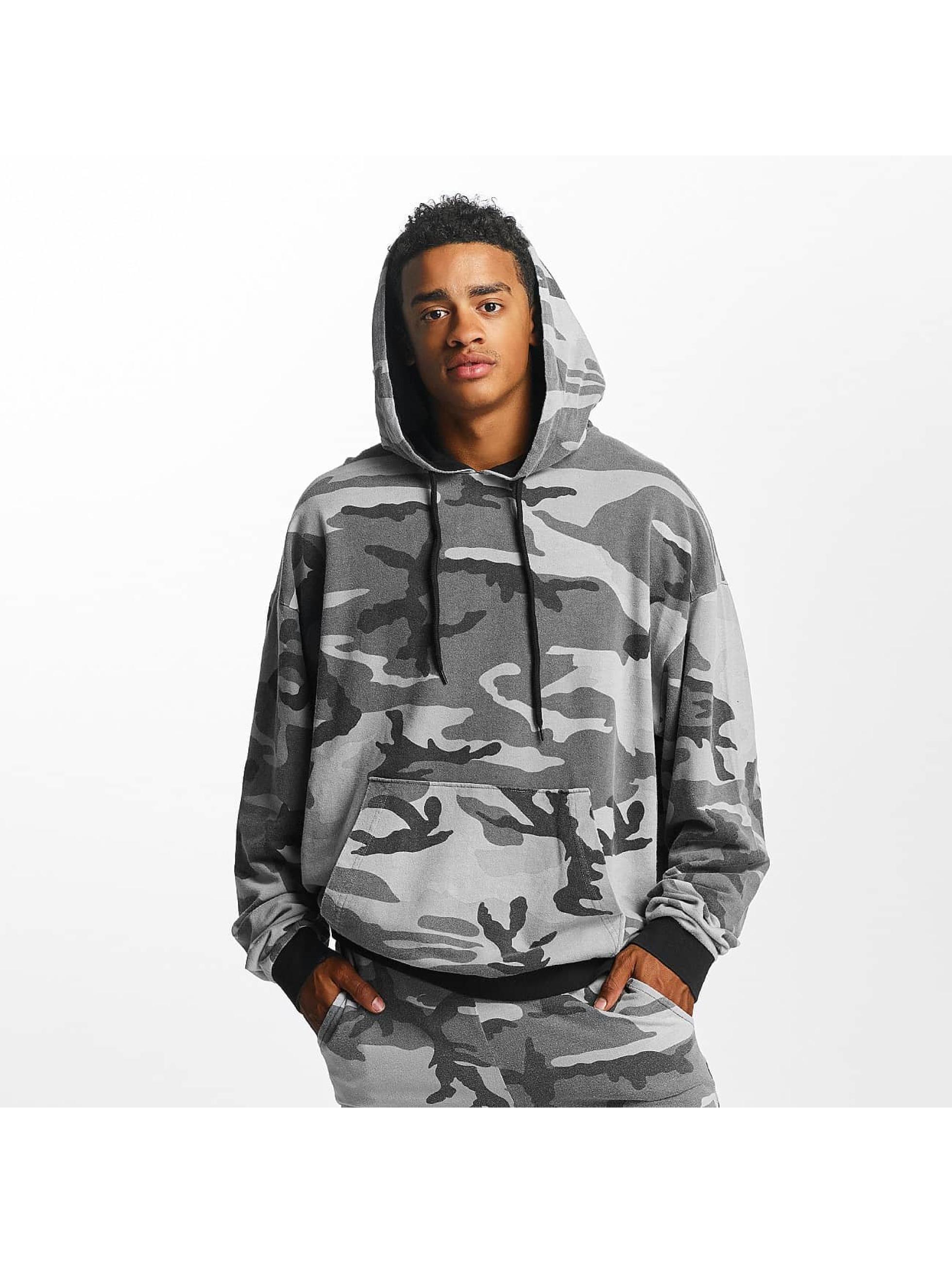 DEF Männer Hoody Camo in camouflage