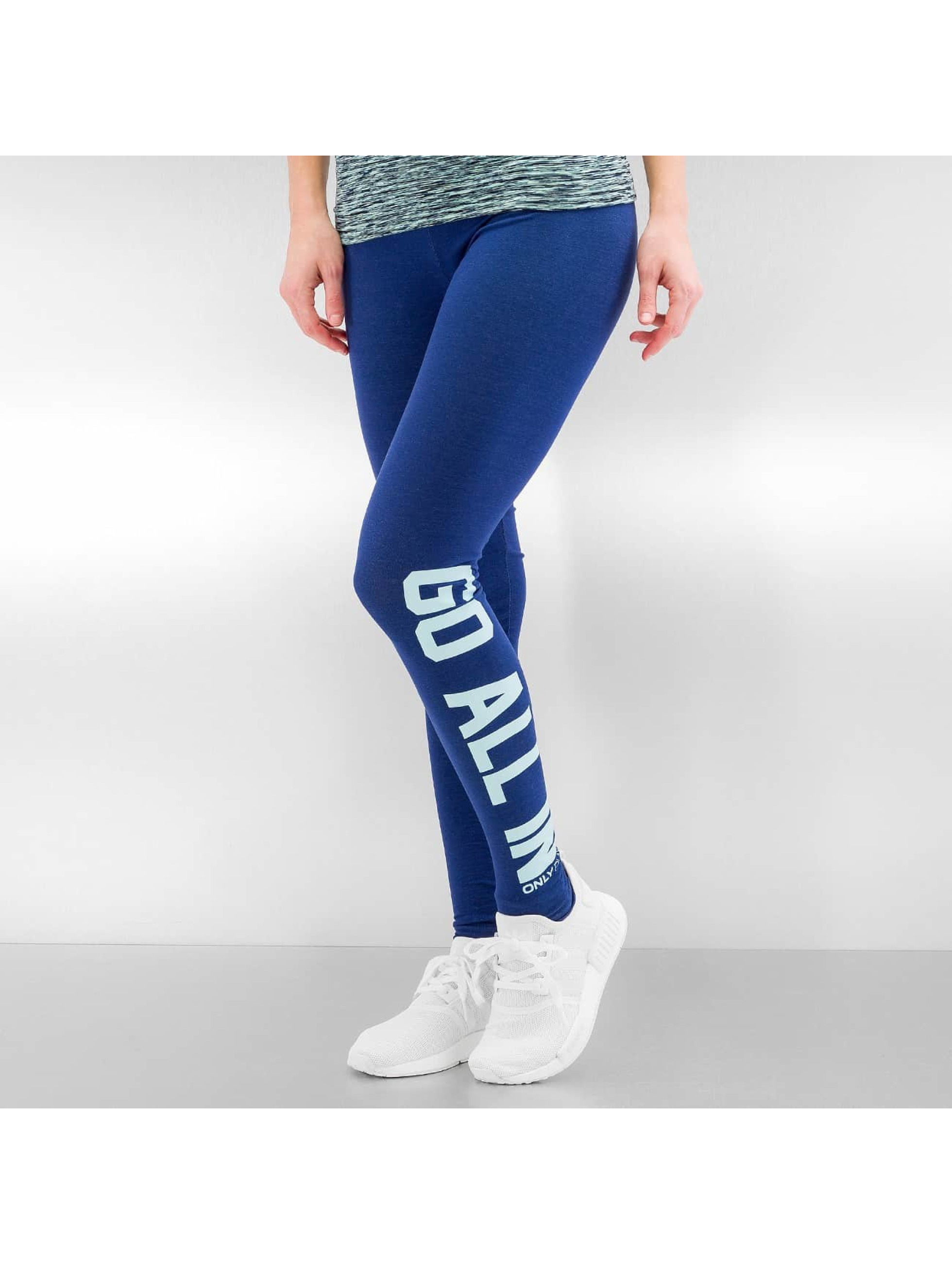 Only Frauen Legging onpNatina in blau
