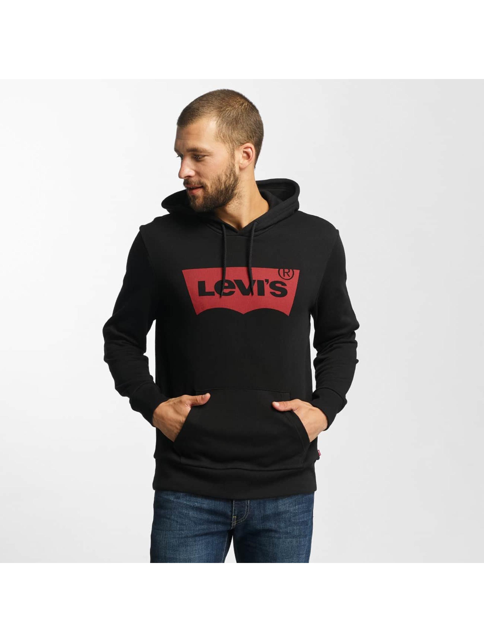 Levi´s® Männer Hoody Graphic Po in schwarz