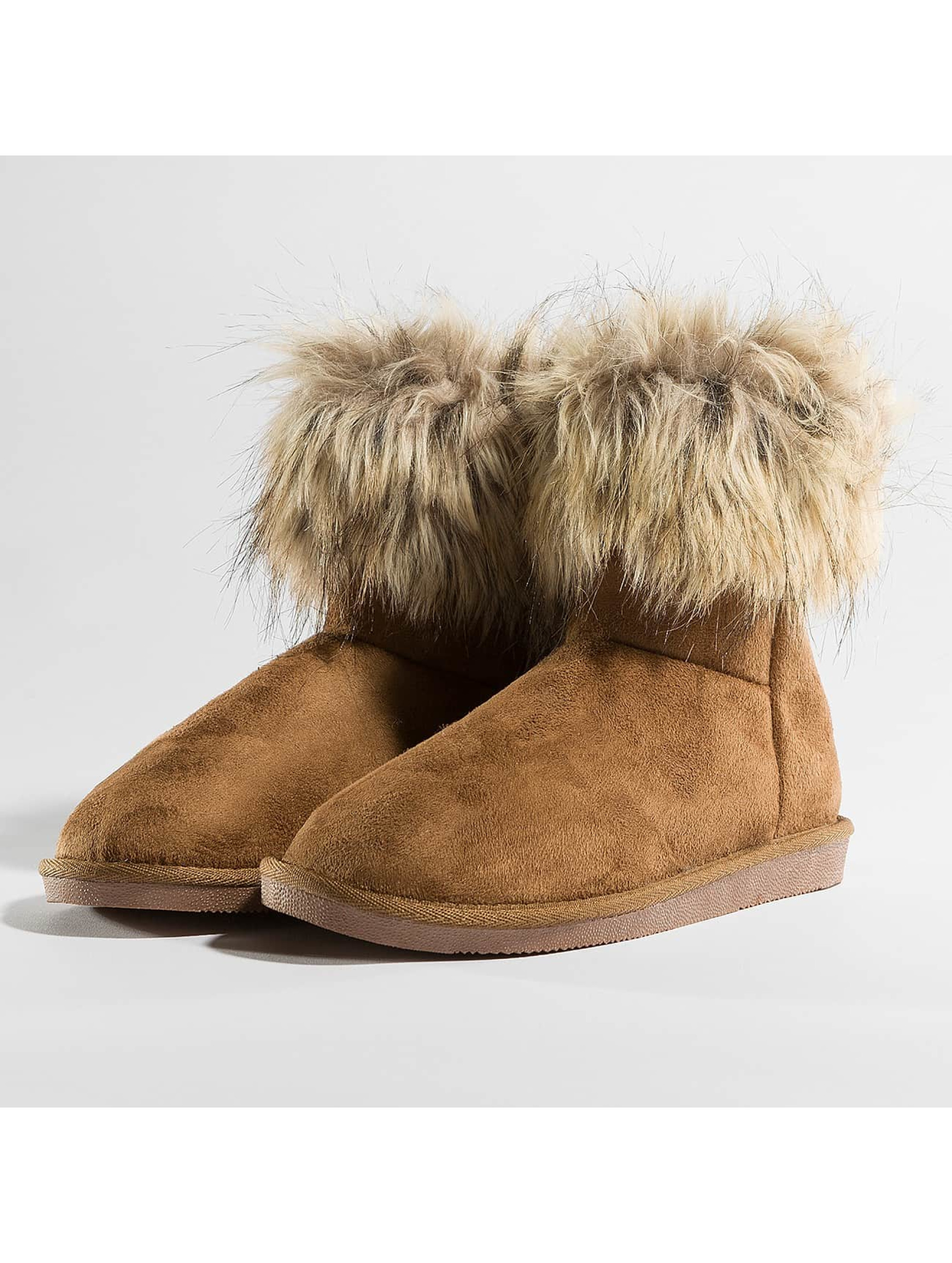 Vero Moda Frauen Boots vmKenna in braun