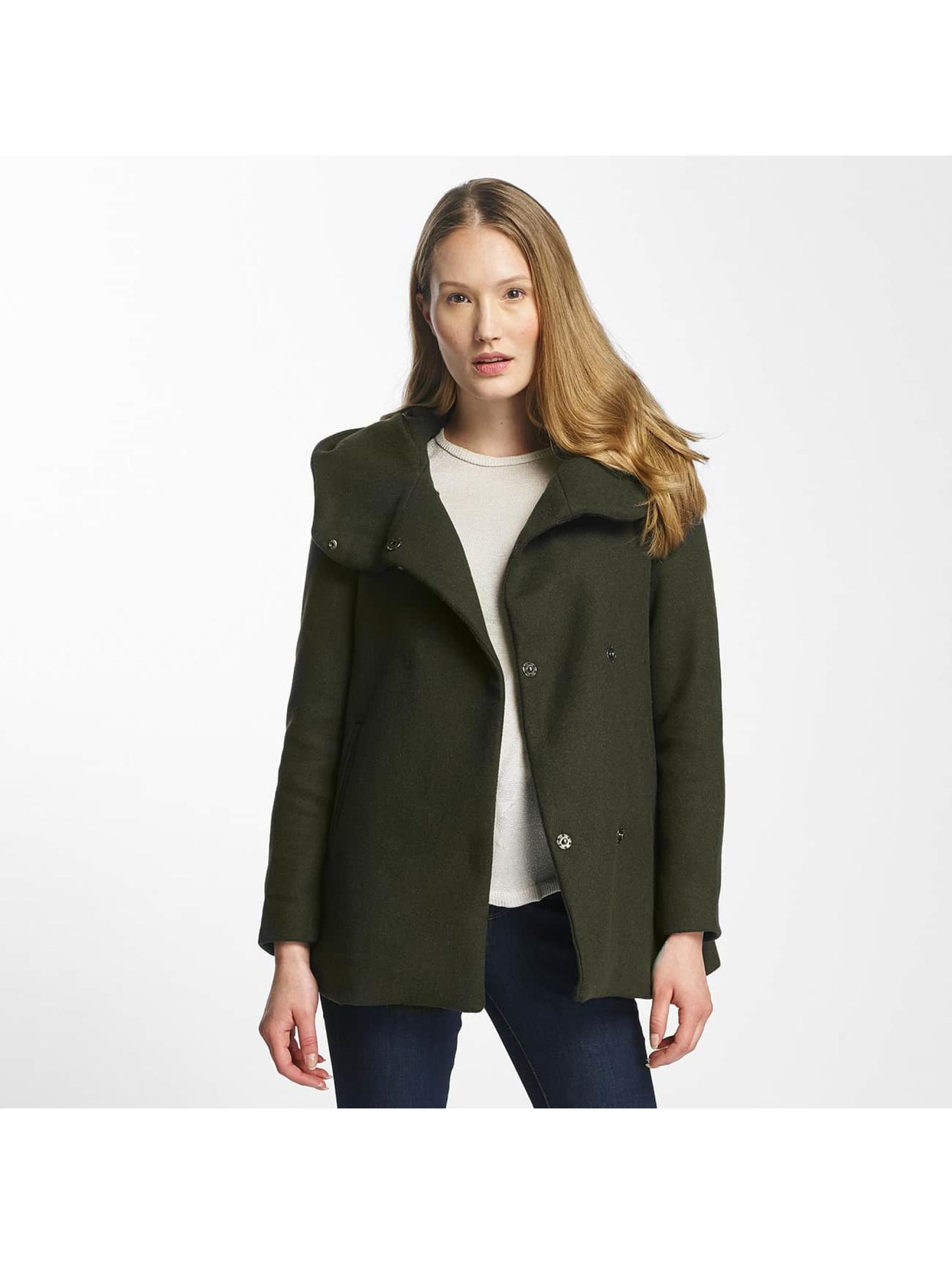 Vero Moda Frauen Mantel vmCollar in grün