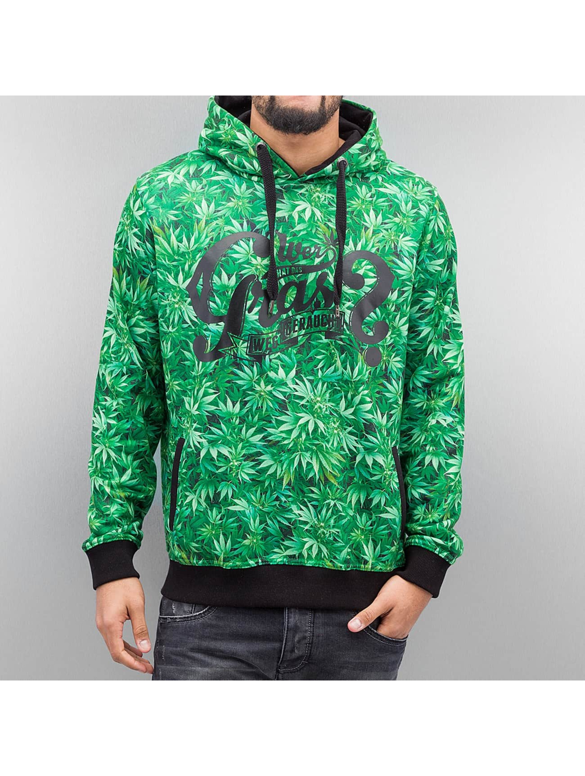 Dangerous DNGRS Wer? Sweater Green1 Sale Angebote